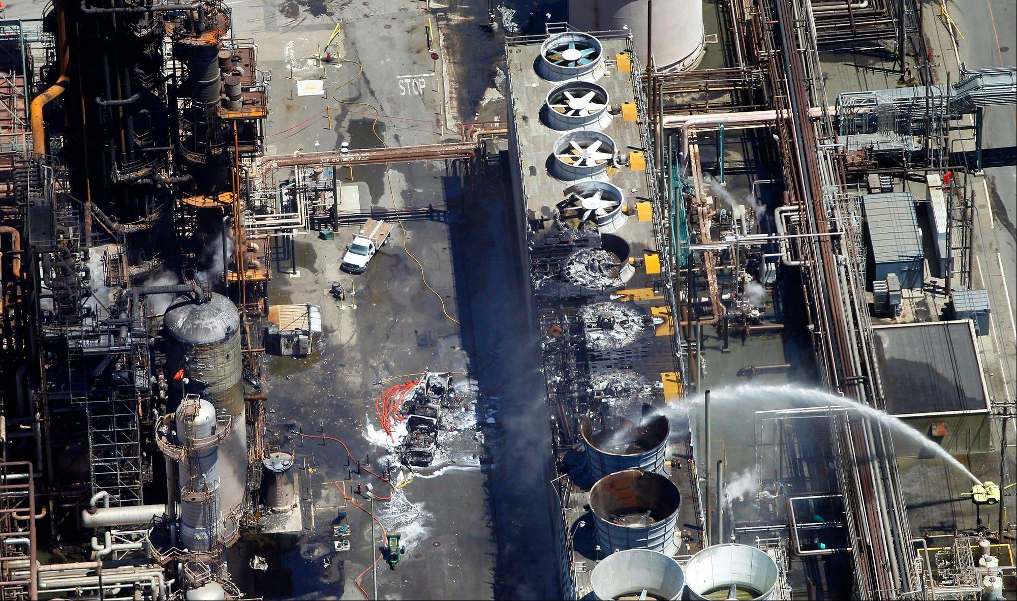 A massive Chevron oil refinery fire that sent hundreds of people rushing to hospitals and is pushing West Coast gas prices higher was just the latest pollution incident at the facility that records show has increasingly violated air quality rules over the past five years.