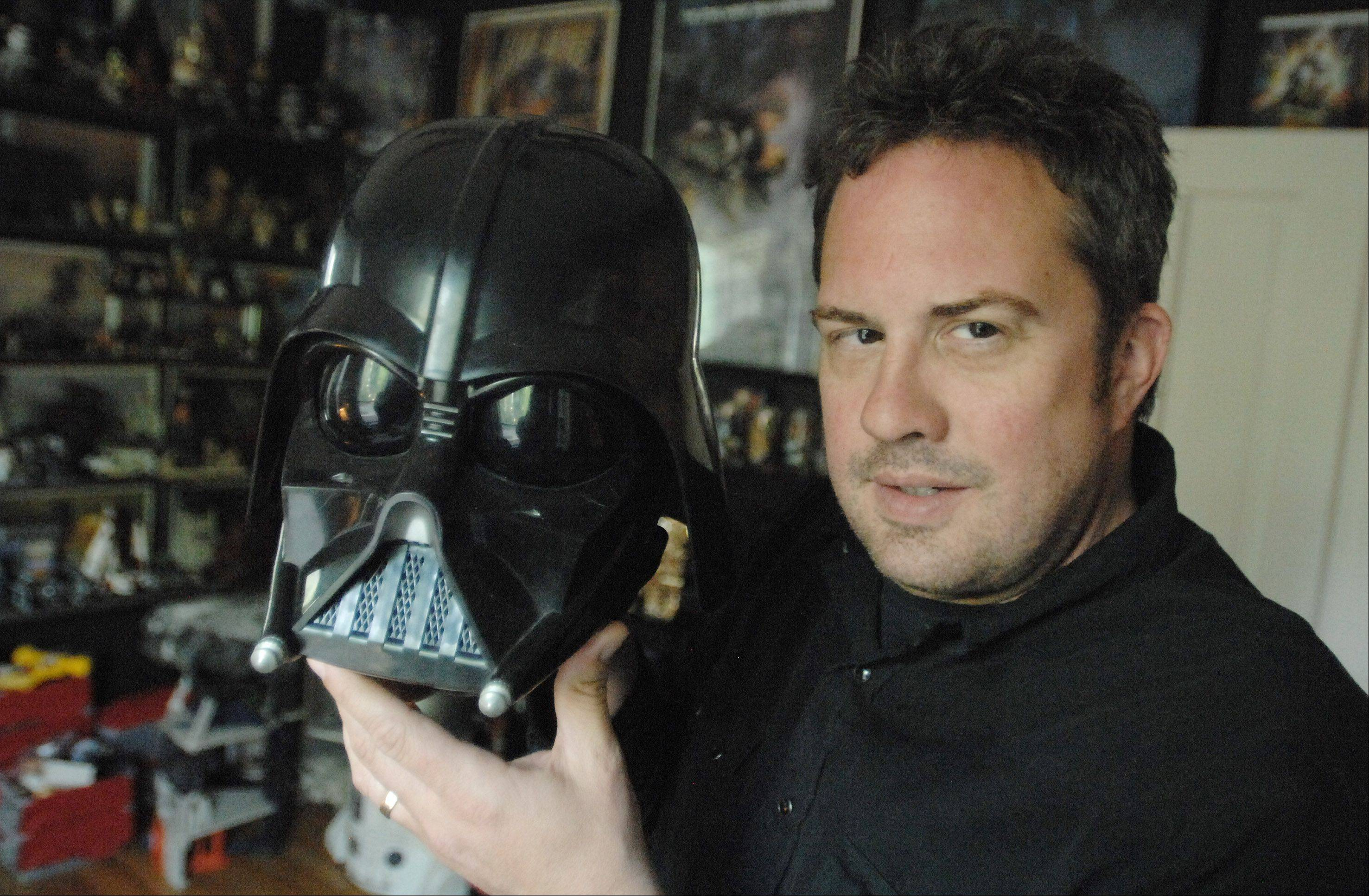 Jimmy �Mac� McInerney, program director at radio station 95.9 FM �The River� in Aurora, is also a devoted �Star Wars� fan and collector. He will be interviewing fans at the Wizard World Chicago Comic Con for a �Star Wars�-related podcast he co-hosts.