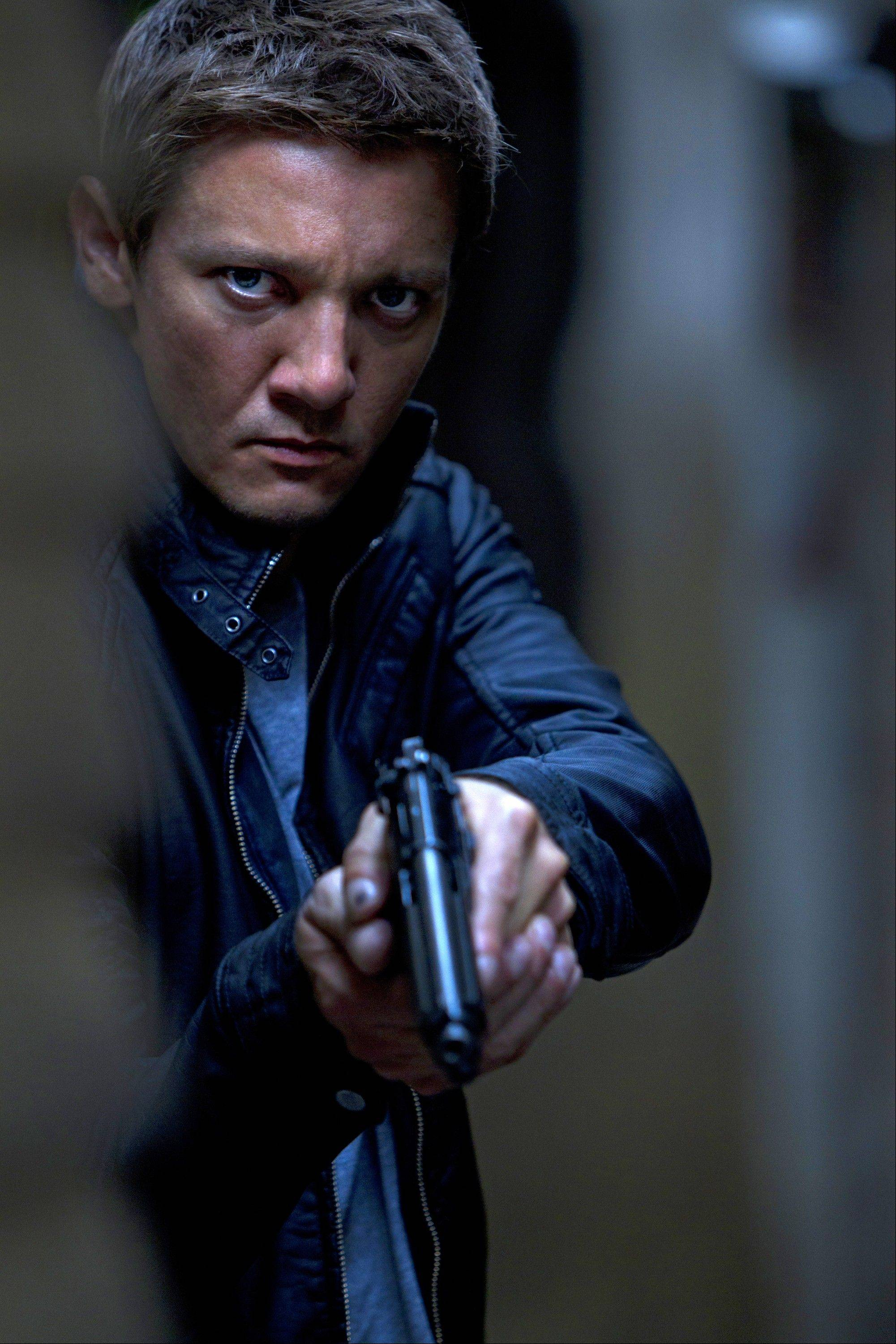 "A physically and mentally enhanced agent named Aaron Cross (Jeremy Renner) becomes a target for his own country in the political paranoia sequel ""The Bourne Legacy."""