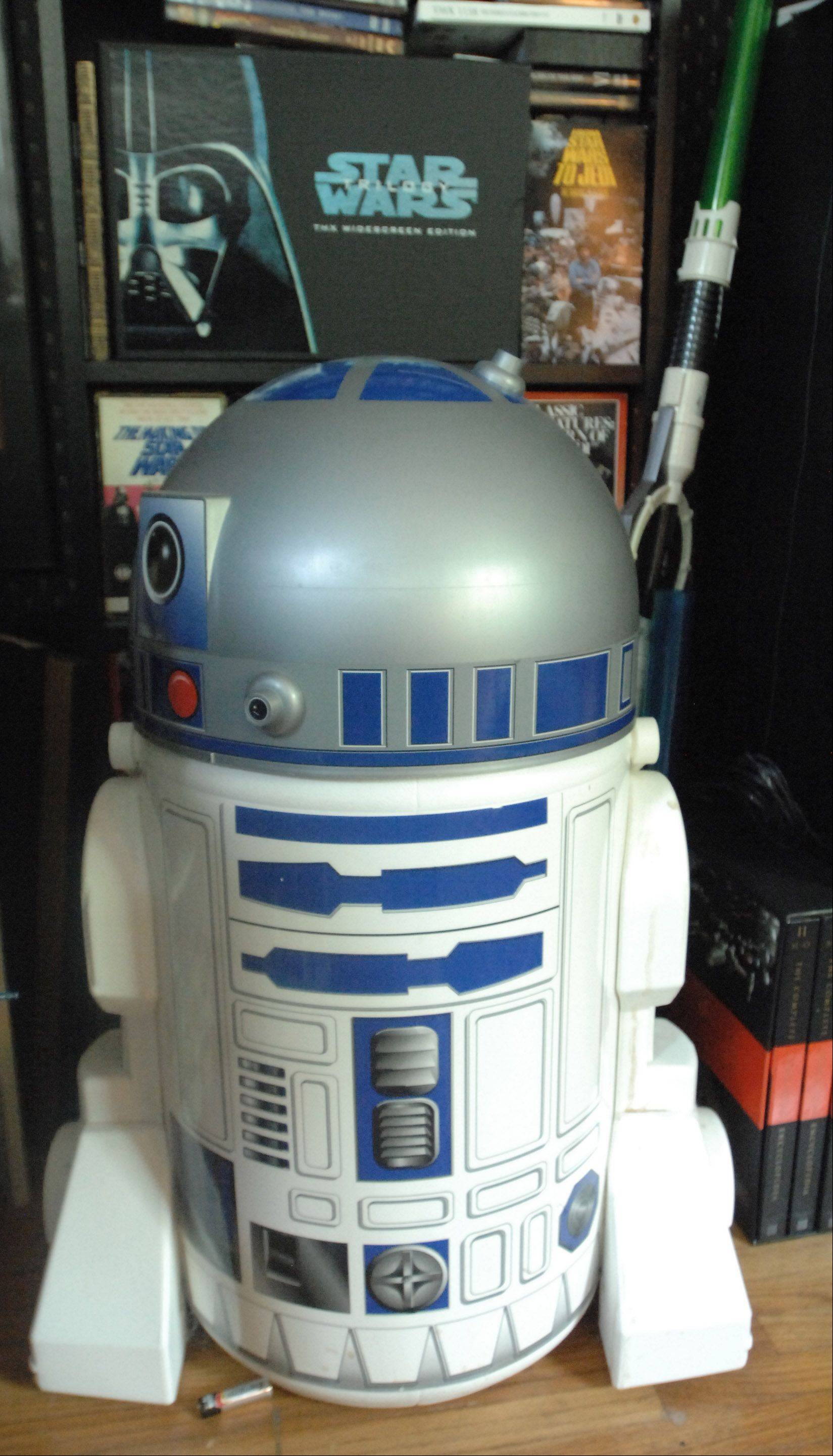 "Jimmy ""Mac"" McInerney has an R2-D2 beer cooler on display in his home."
