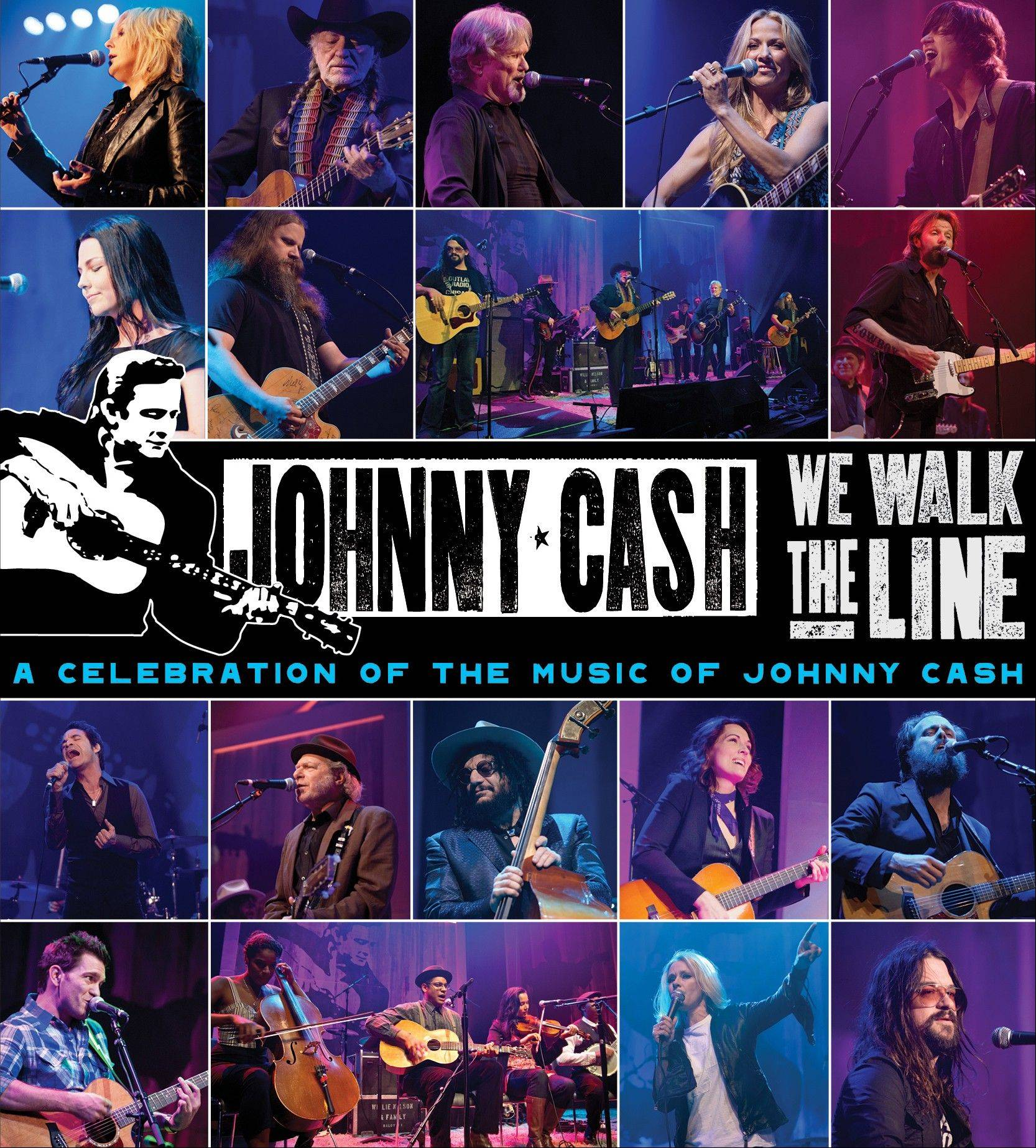 """We Walk the Line: A Celebration of the Music of Johnny Cash"" is a tribute to the late Johnny Cash."