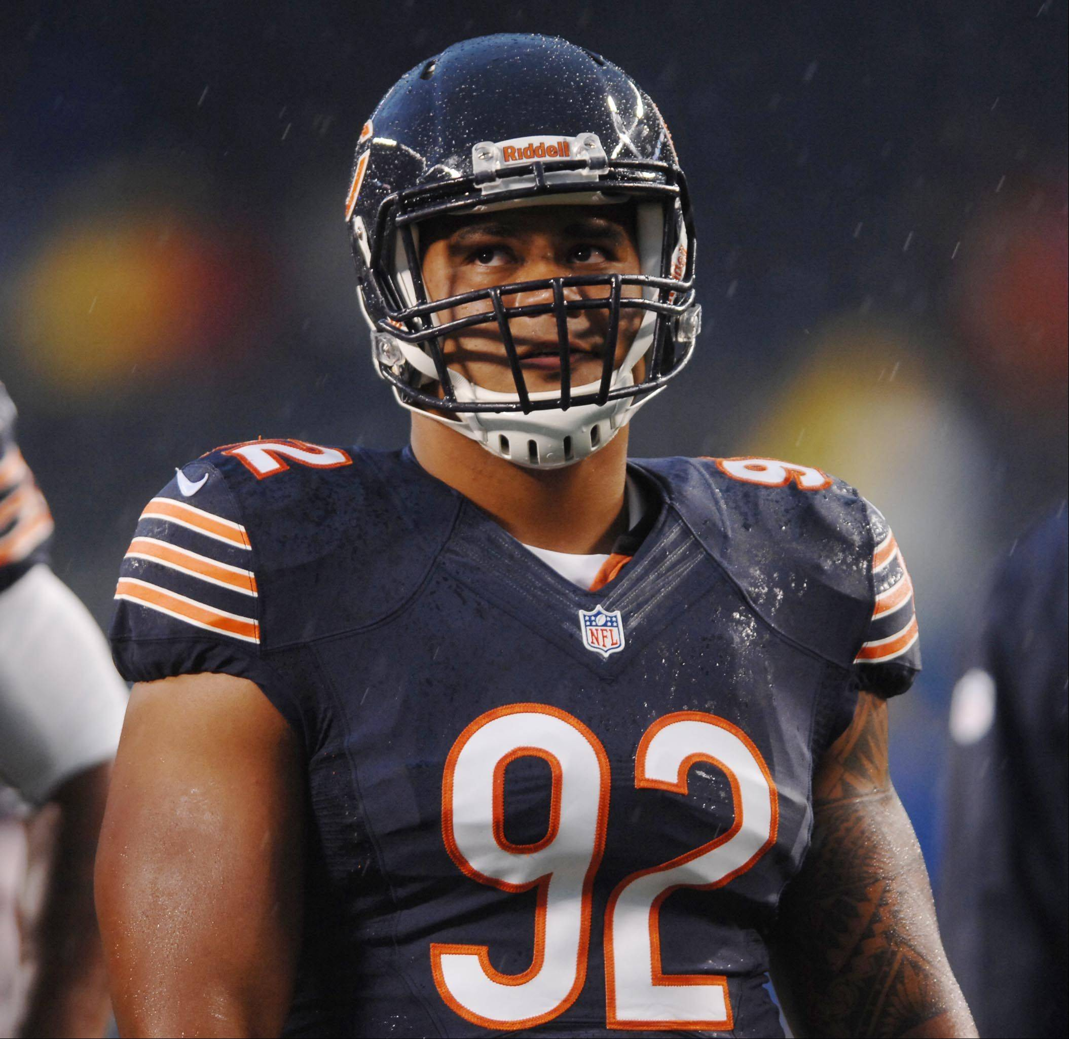 Chicago Bears defensive tackle Stephen Paea.