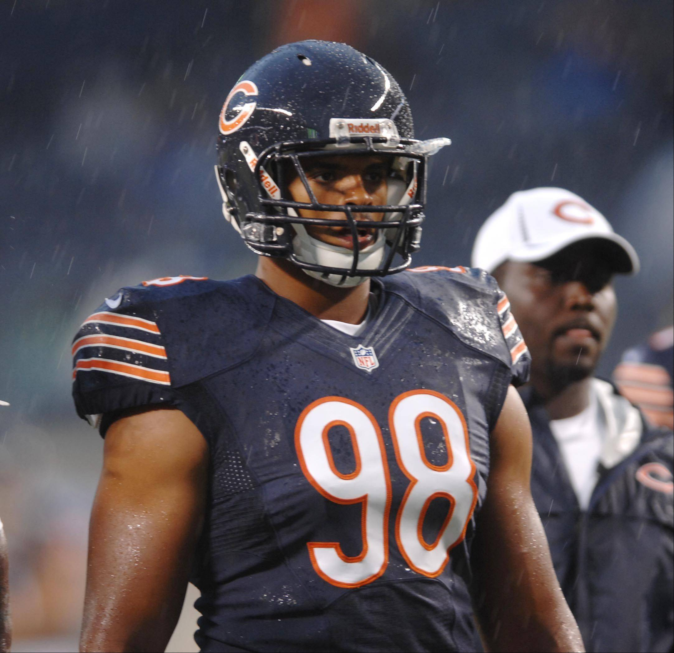 Chicago Bears defensive end Corey Wootton.
