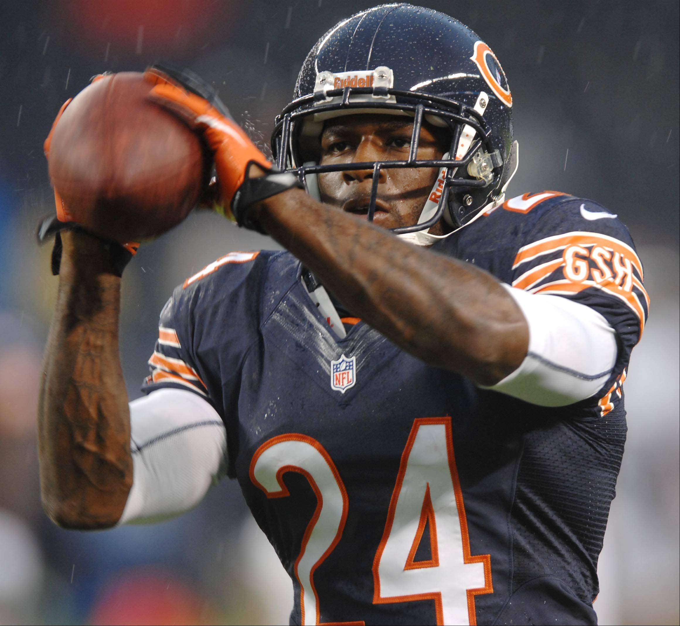 Chicago Bears defensive back Kelvin Hayden .