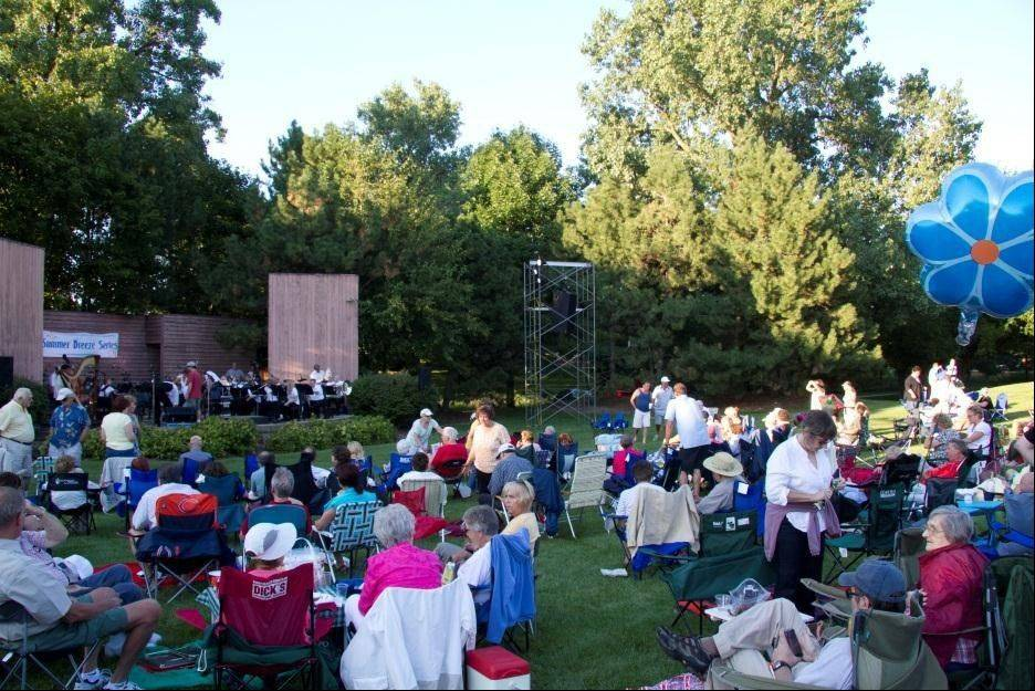 Bring a picnic and come enjoy the free Summer Breeze Concert Series on select Saturdays in August at the Robert O. Atcher Municipal Center, 101 Schaumburg Court, in Schaumburg.