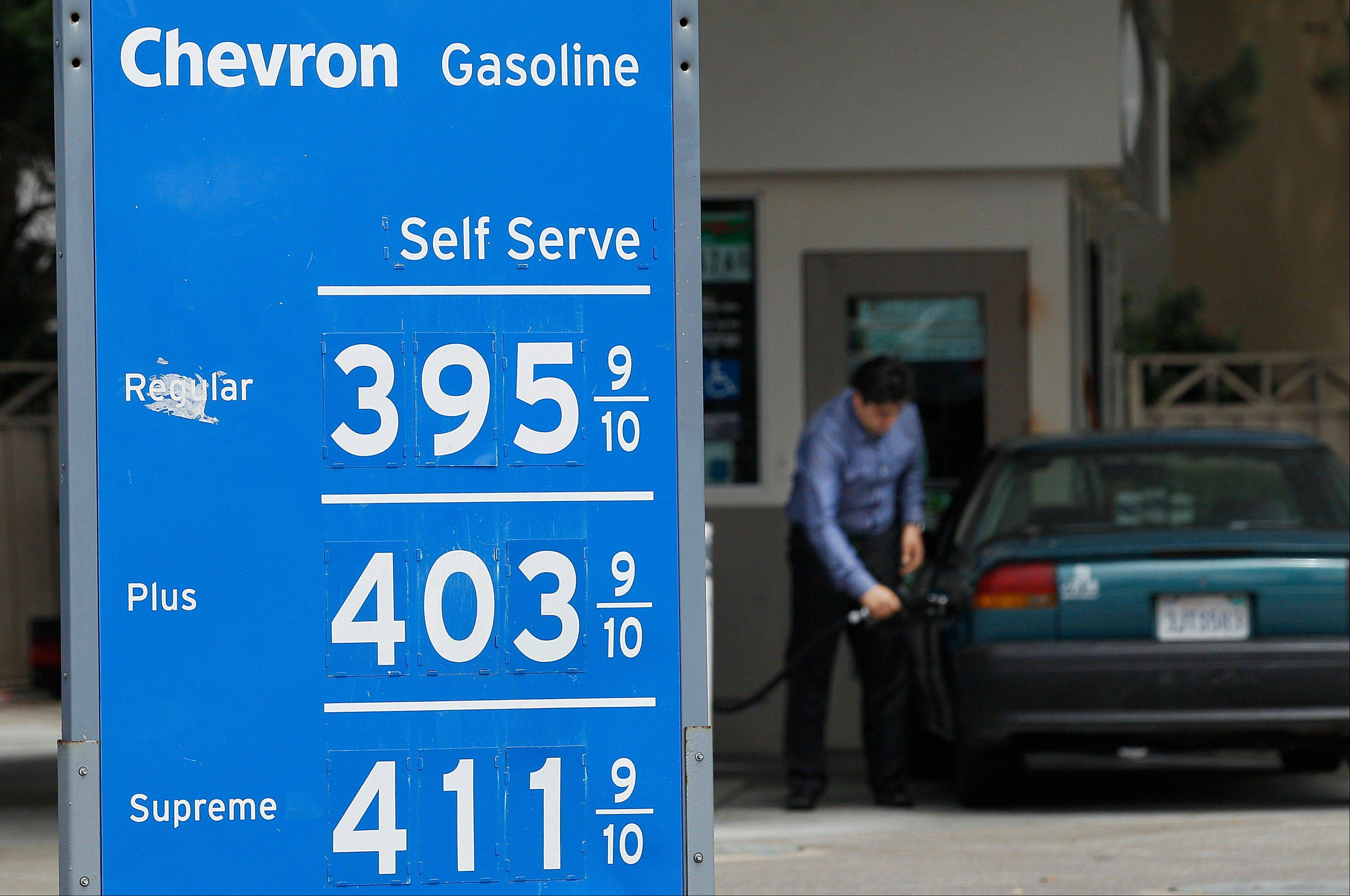 The average price of regular gasoline jumped in California from $3.86 a gallon on Tuesday to $3.94 on Thursday, according to the website GasBuddy.com.