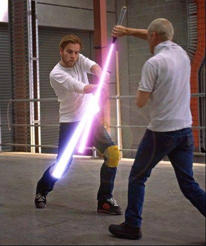 Learn lightsaber moves this weekend at the Wizard World Chicago Comic Con in Rosemont.