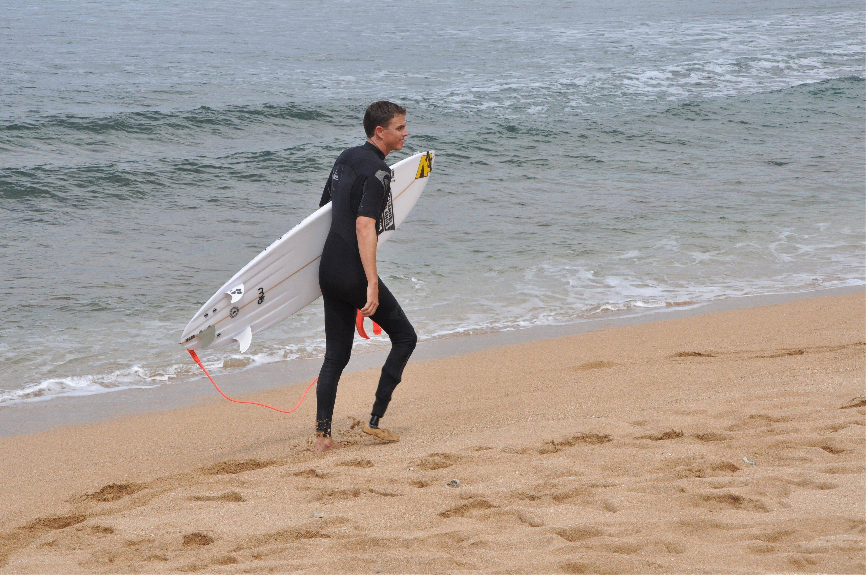 "Mike Coots, who lost his right leg to a shark while surfing off the Hawaiian island Kauai, said he hopes his contribution to Shark Week's emphasis on conservation ""might inspire future stewards of the ocean."""