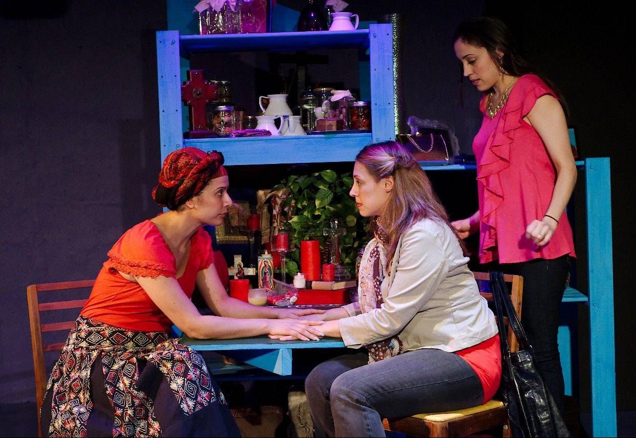 "16th Street Theater's ""Enfrascada"" is the second local play to be remounted as part of the Best of Chicago series at Metropolis Performing Arts Centre in Arlington Heights."