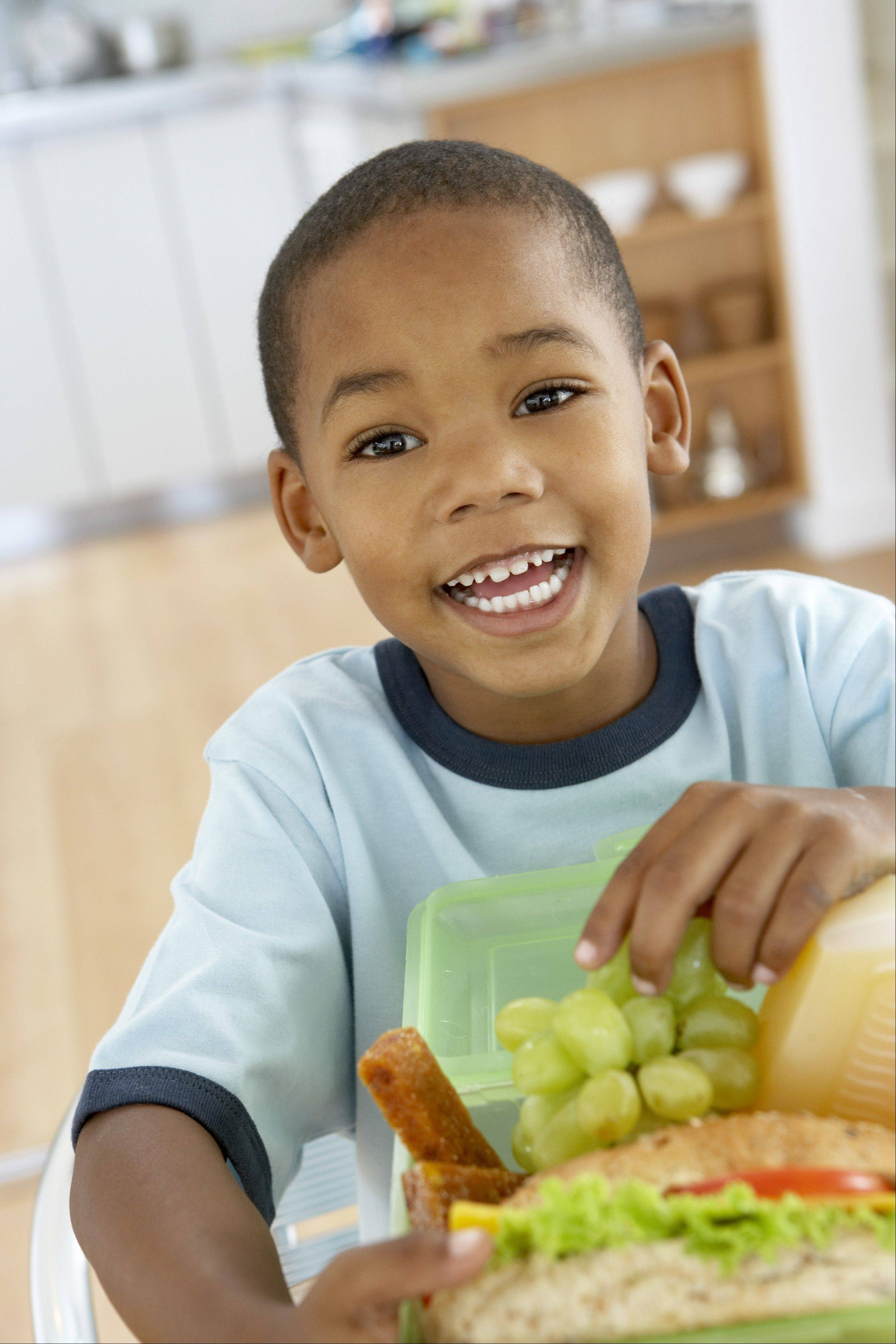 Children who help pack their own lunches may be more likely to eat them when they get to school.