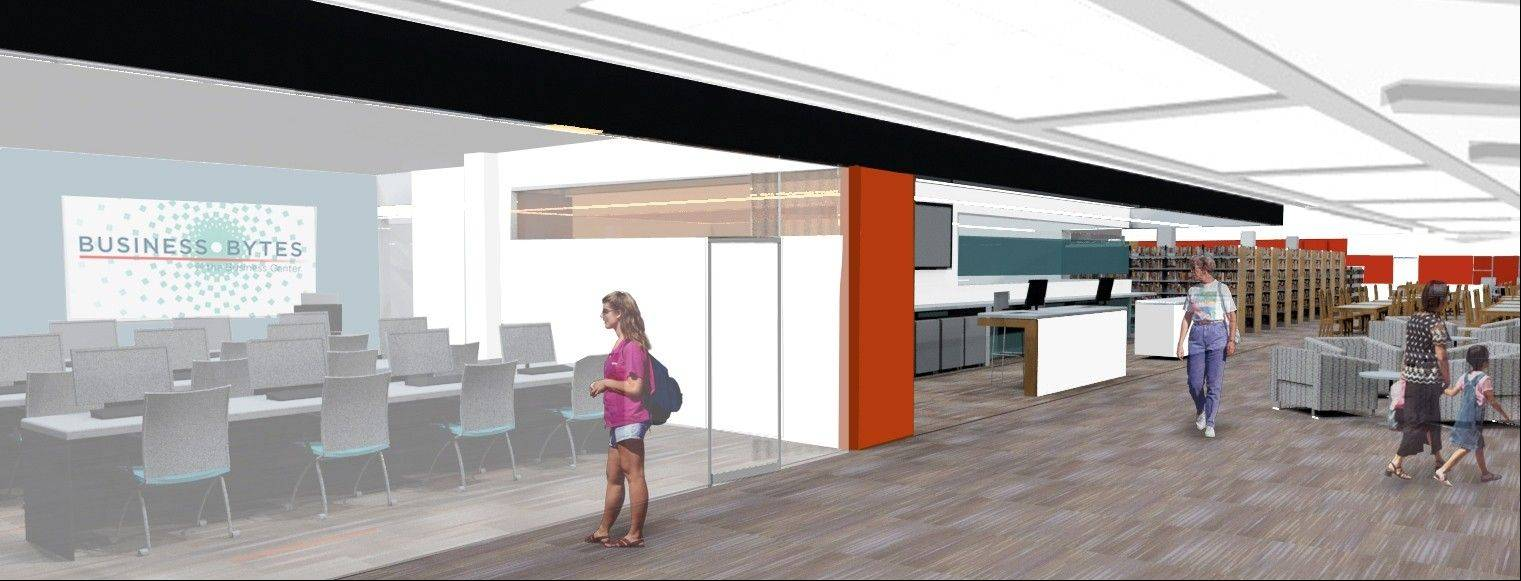 The library is expanding its computer assistance section, adding a conference room for business meetings.