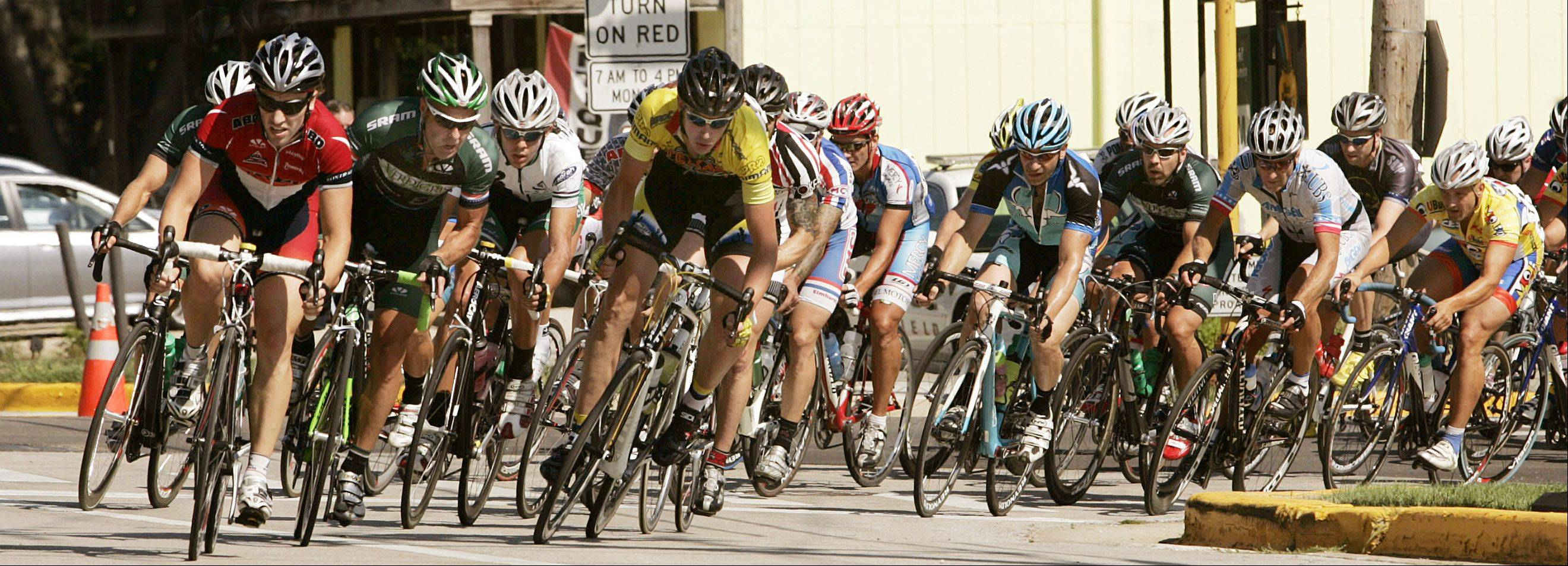 Hundreds of cyclists from throughout the Midwest are expected to compete a series of races this weekend as part of the 13th annual Winfield Criterium.
