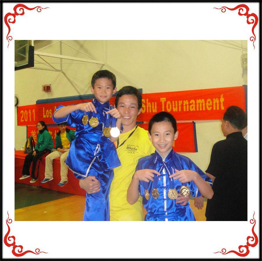 Six Soaring Eagle Kung Fu School students won 19 medals (14 gold, three silver and two bronze) at the 2012 Golden State International Wushu (Kung Fu) Championship, held June 16, in San Jose, California. Also, the Soaring Eagle Kung Fu School received the Team Organizer Award for outstanding achievement for winning so many medals.
