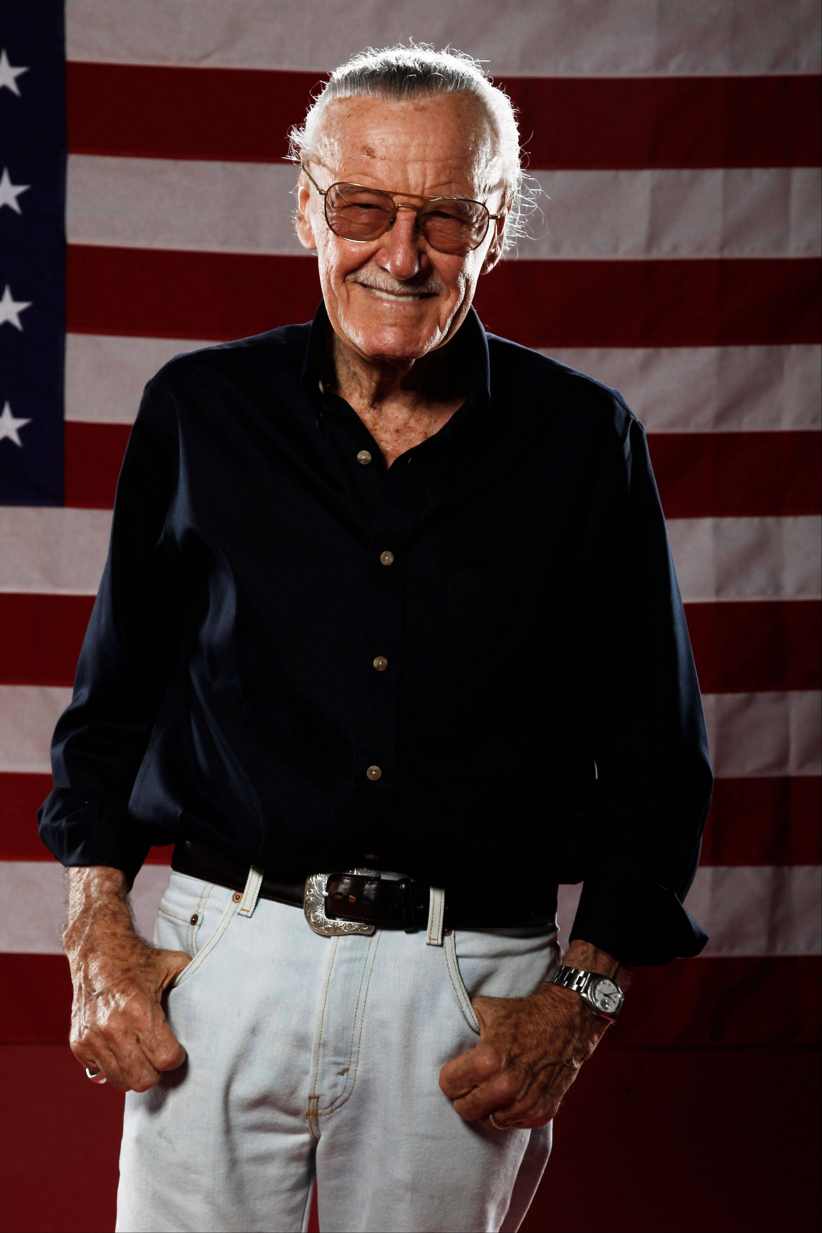 Iconic comic book creator Stan Lee will appear at Wizard World Chicago Comic Con in Rosemont this weekend.