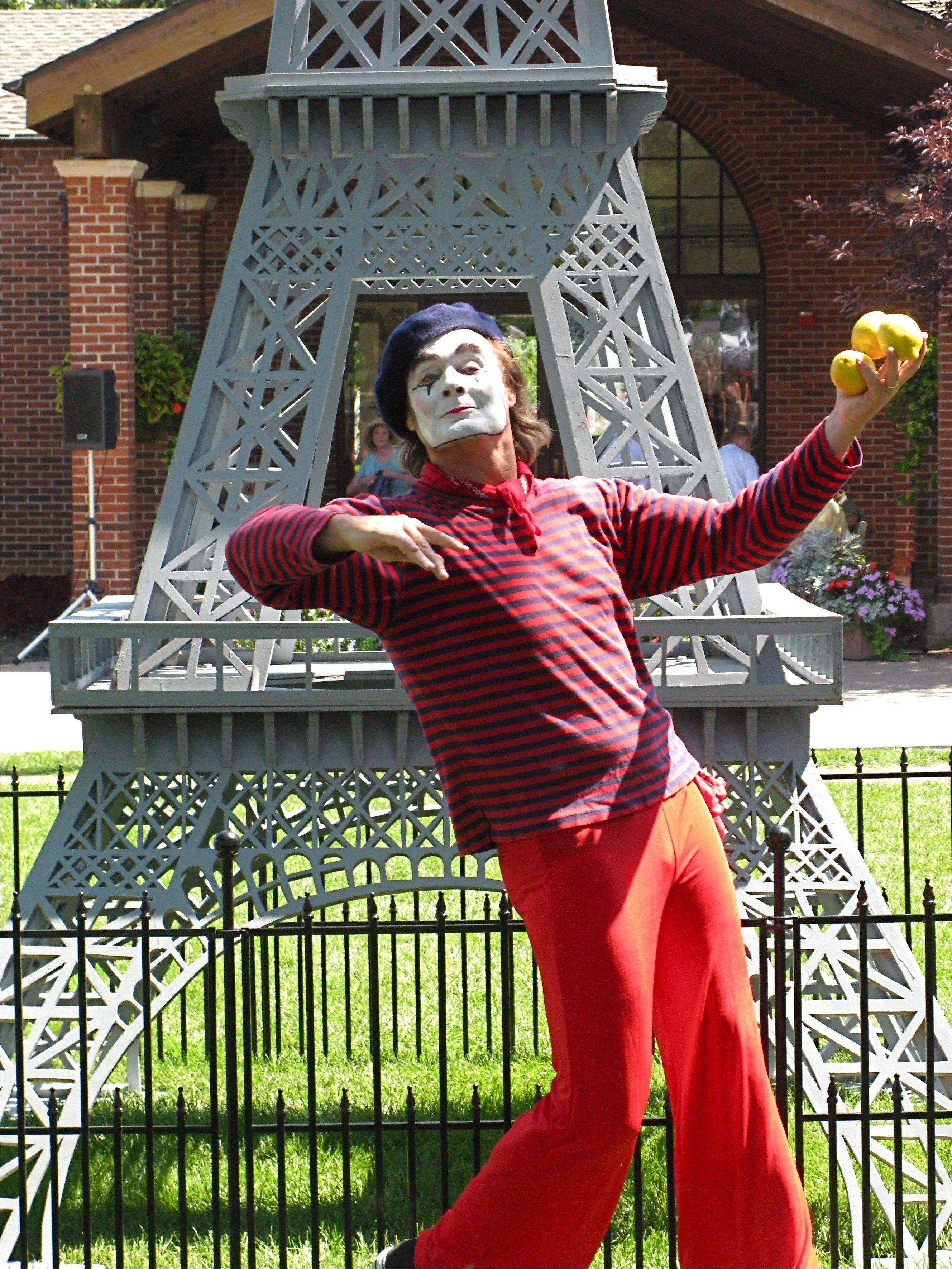"Street performers are part of the French themed ""French Connection Day"" on Sunday, Aug. 12, at Cantigny and the First Division Museum in Wheaton."