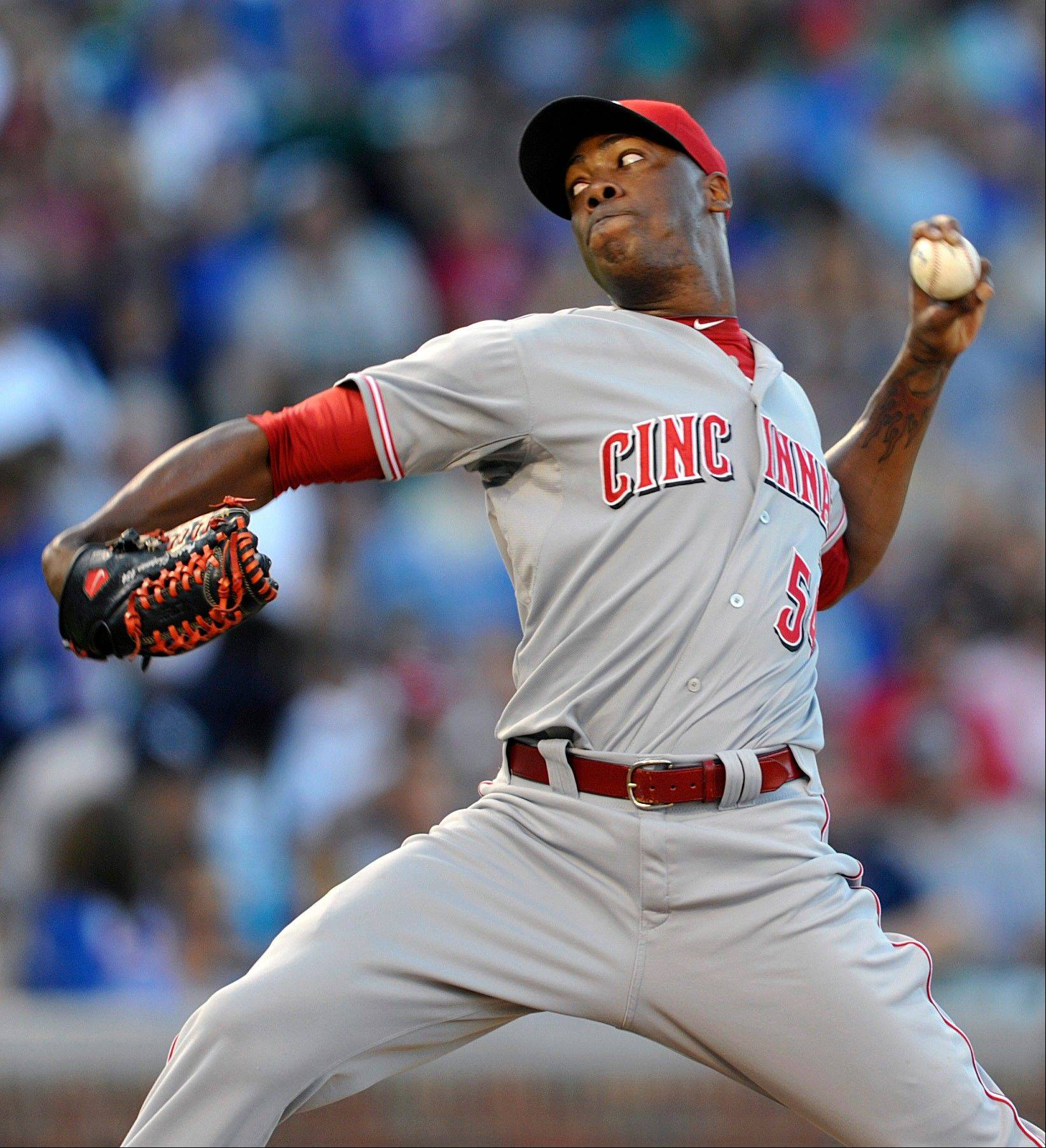 Cincinnati closer Aroldis Chapman has struck out 106 hitters in 57 innings this season.