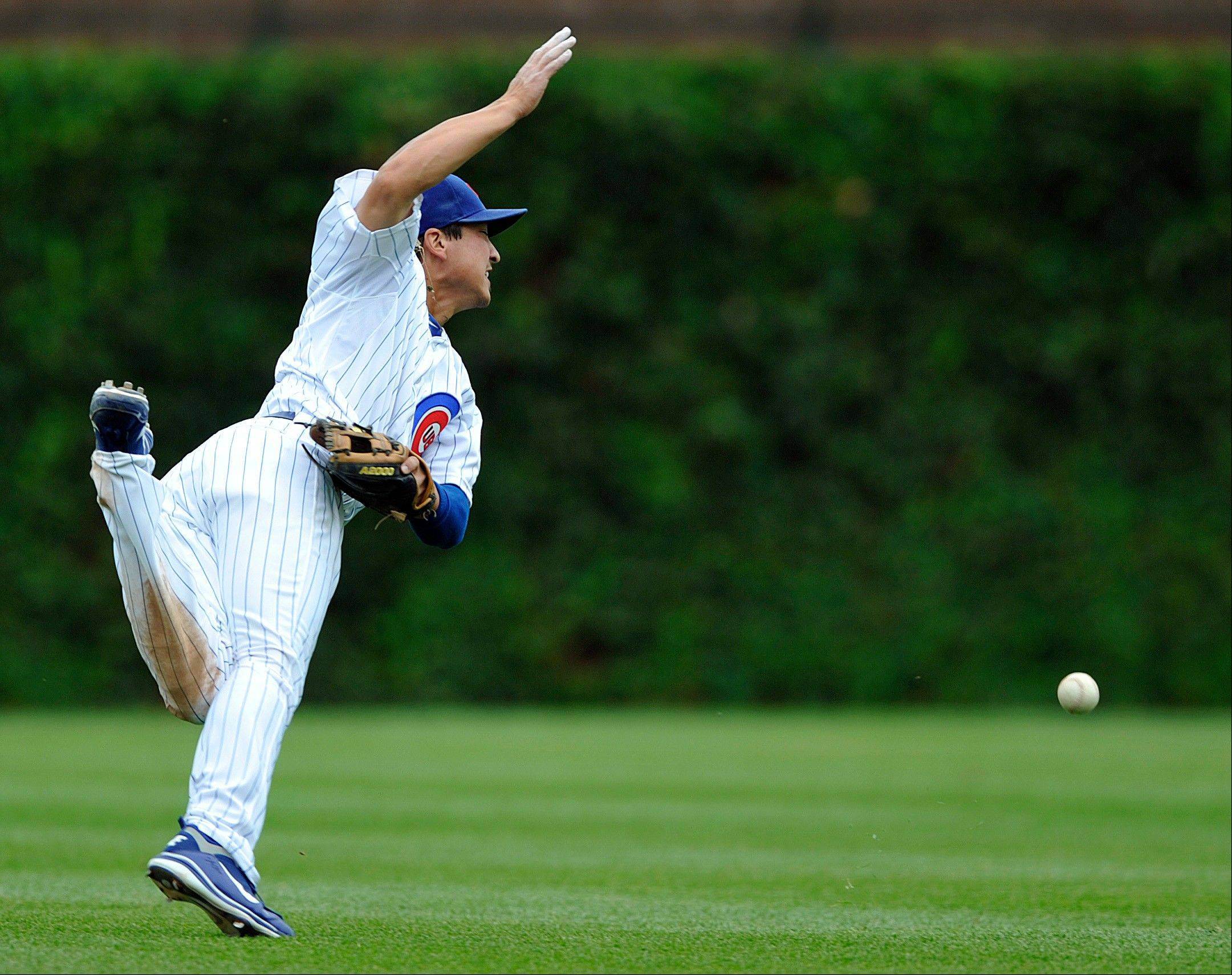 Cubs' offense stuck in reverse