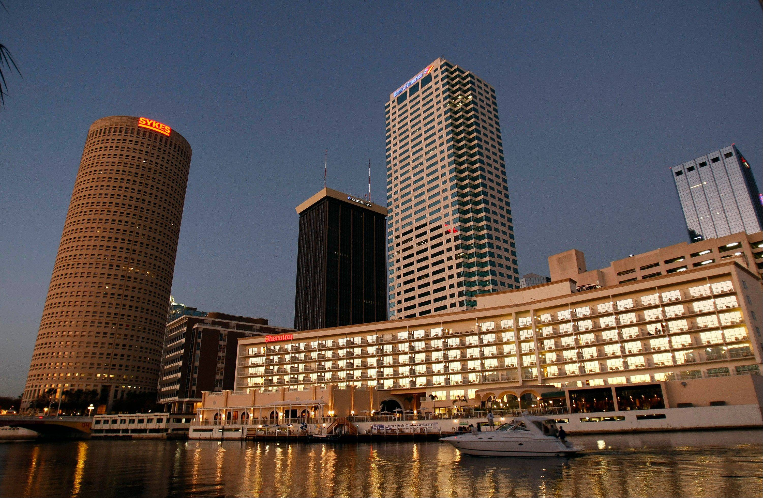 Tampa is the host city of the Republican National Convention Aug. 27-30.