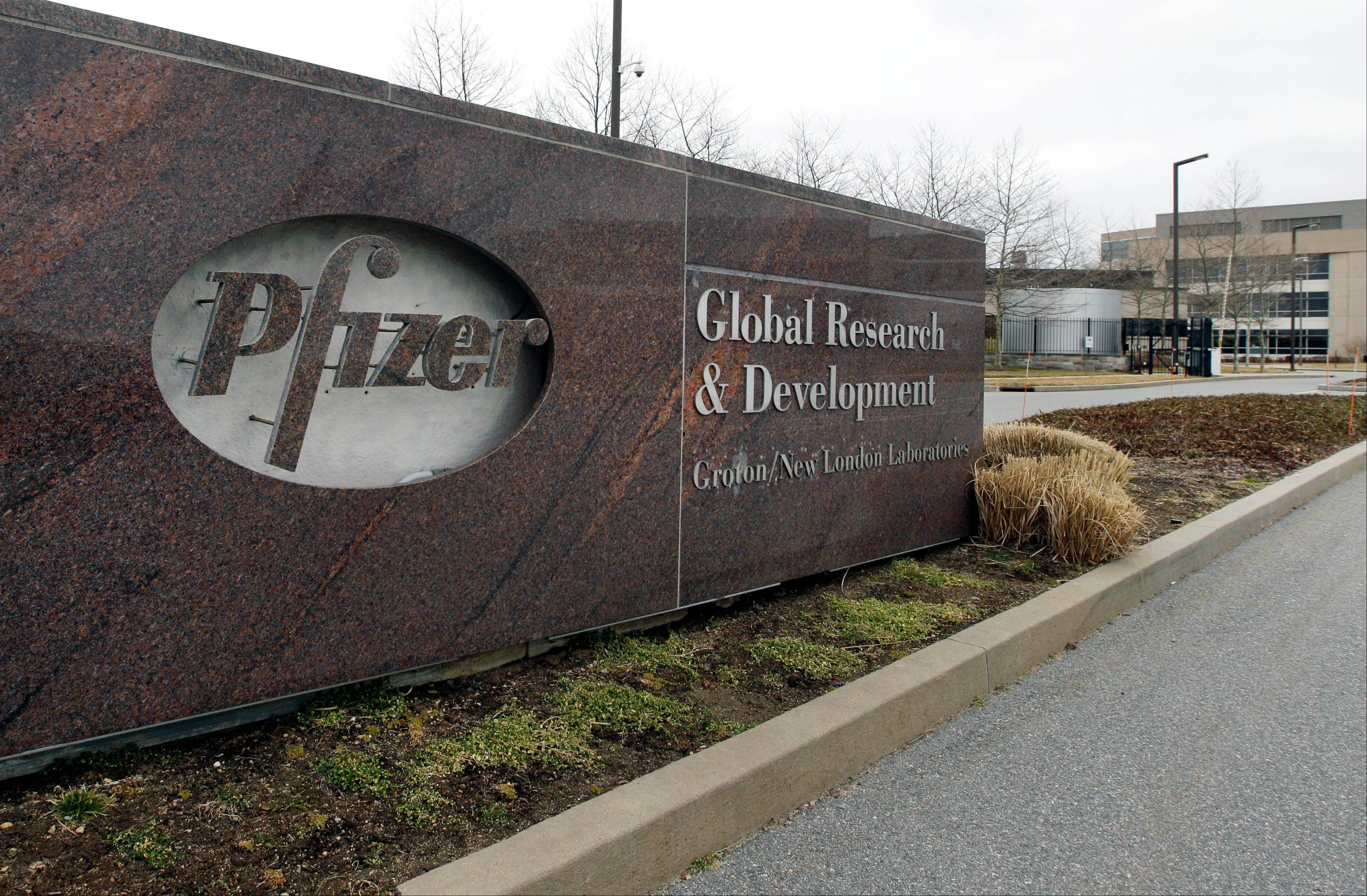 Pfizer Inc. plans an initial public offering of about $100 million in shares of its animal health business to pay off debt.
