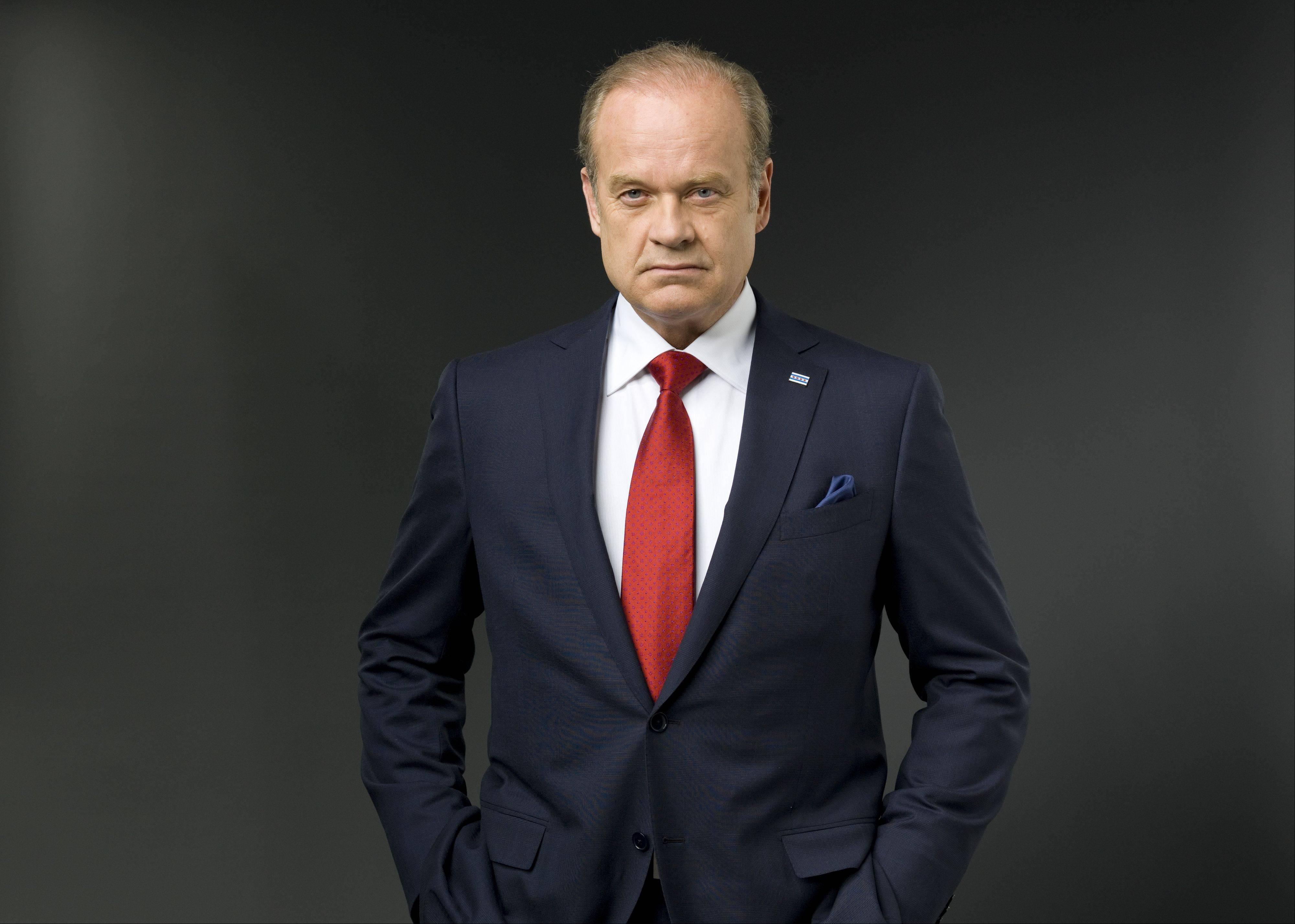 "Kelsey Grammer stars in ""Boss,"" which returns for its second season Friday on Starz."