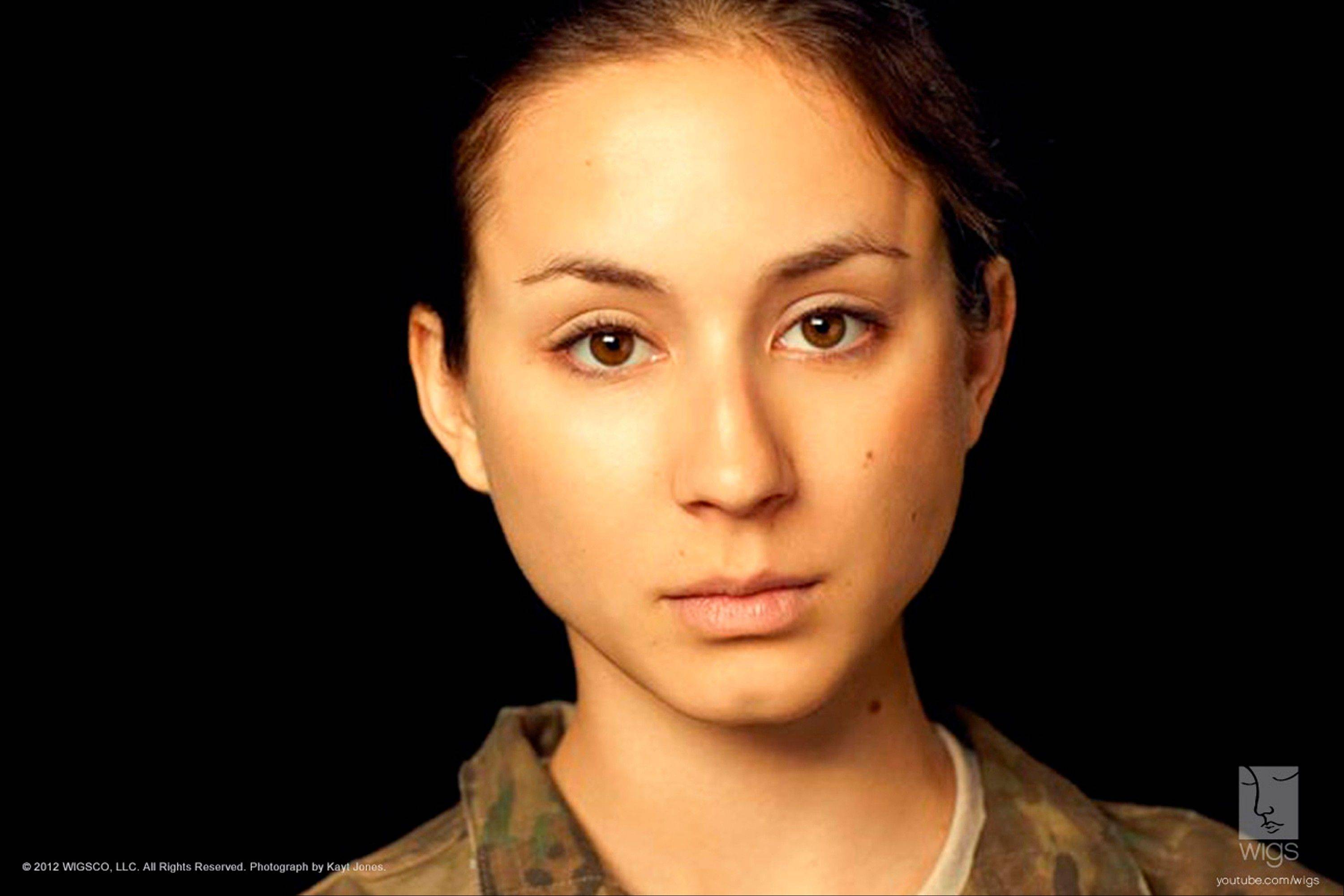 "Troian Bellisario stars as a female soldier who reports being raped in ""Lauren"" on YouTube's new channel WIGS."