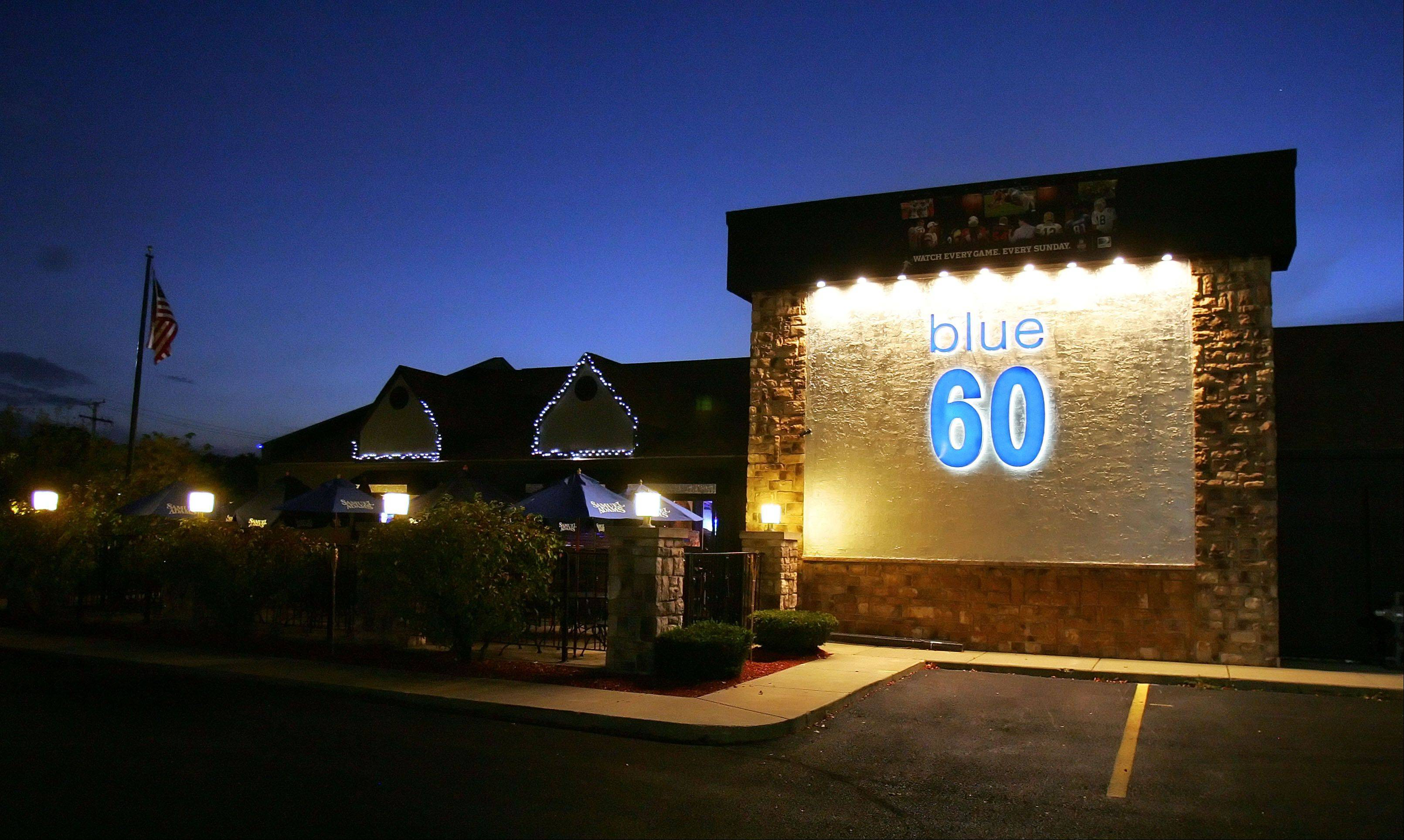 Steve Lundy/slundy@dailyherald.com � The Blue 60 restaurant and bar in Mundelein is facing penalties for multiple liquor-law violations.