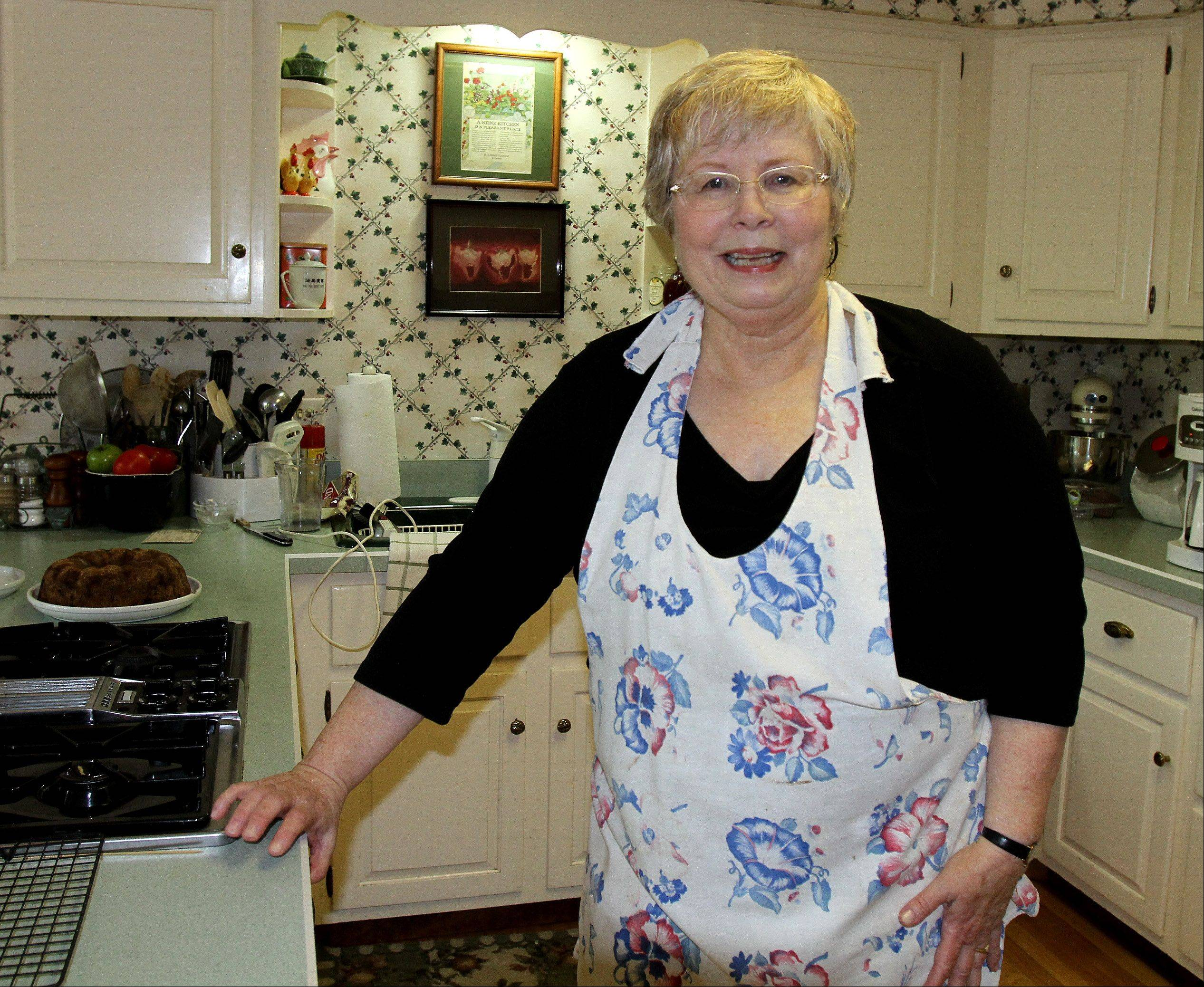 Sue Waskelis of Lisle loves trying new recipes and counts Cook�s Illustrated magazine as her go-to source.