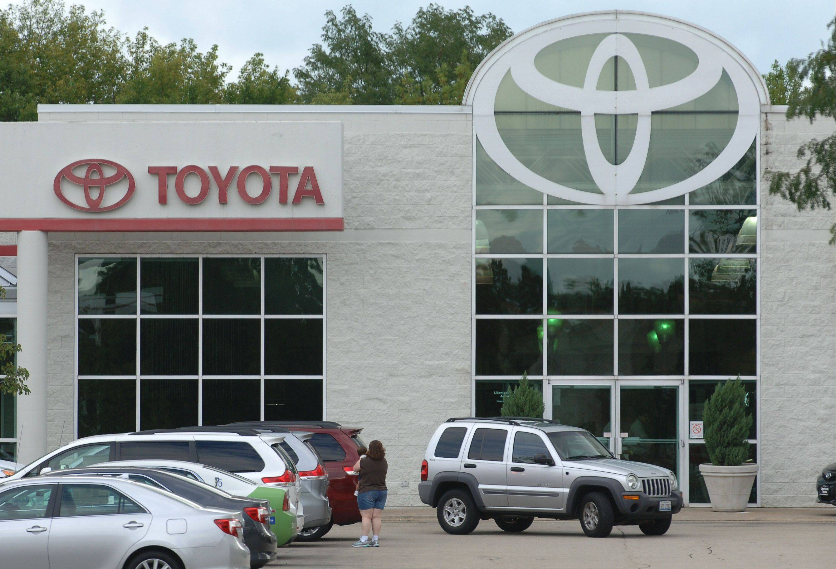 Libertyville Toyota is one of several dealerships in the village pursuing upgrades.
