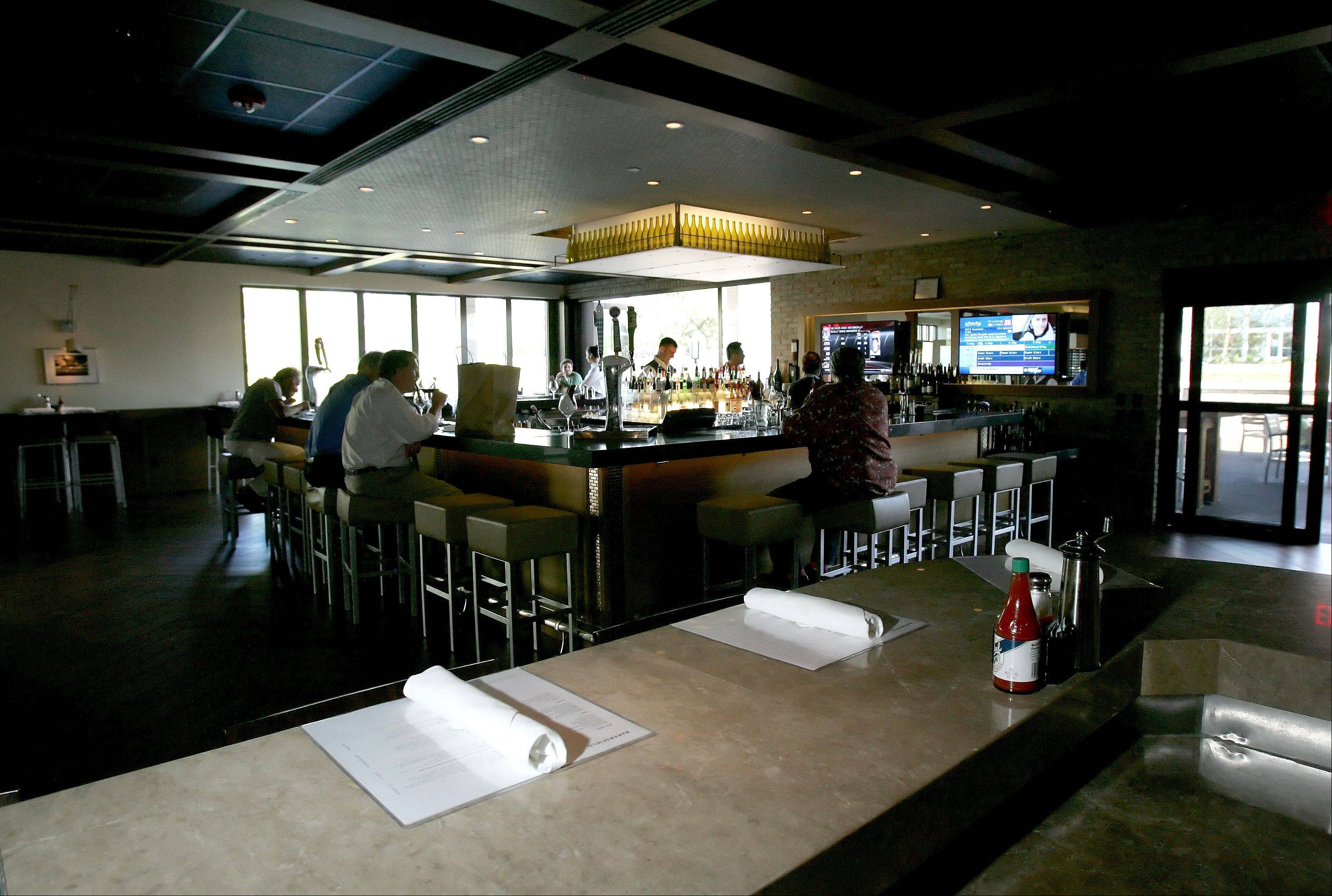 Bakersfield Restaurant offers a casual menu in a sophisticated space.