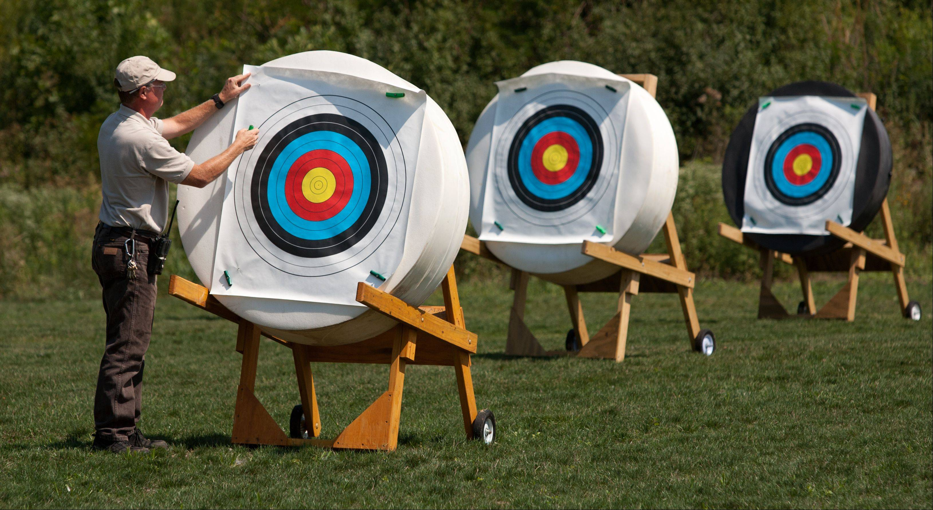 Blackwell to unveil centers for archery, urban stream studies