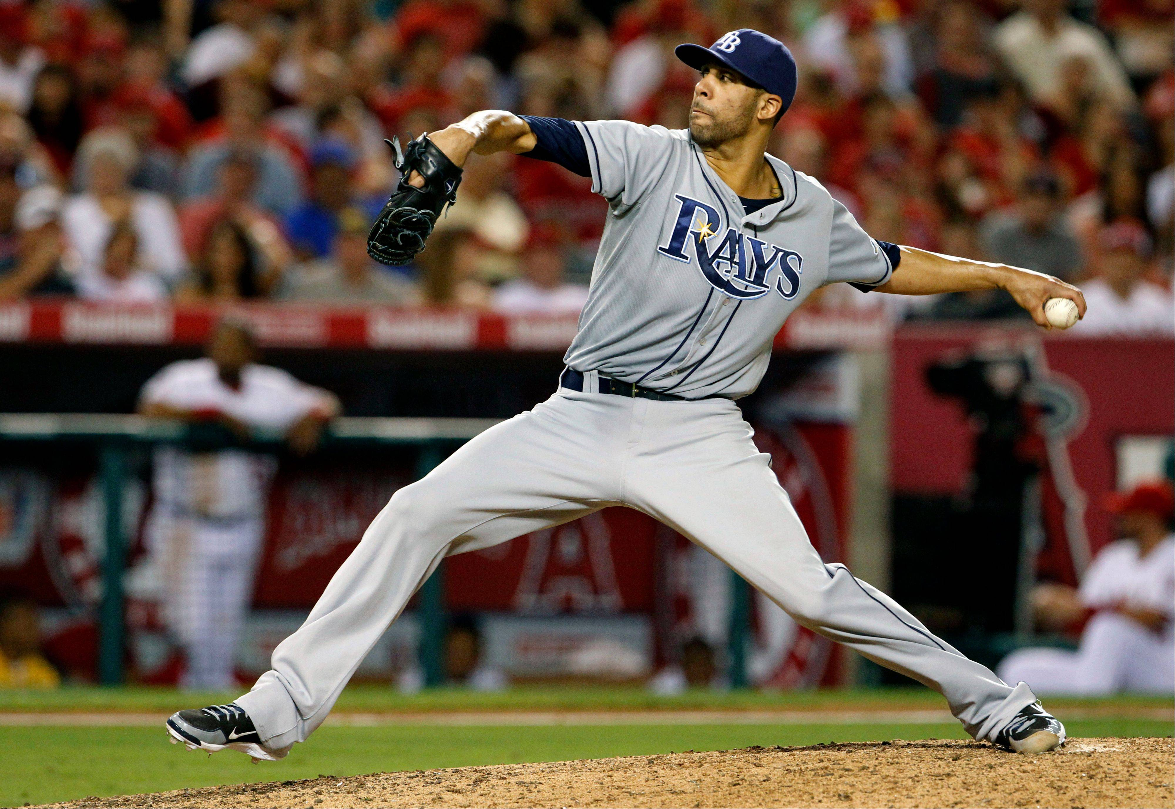Tampa Bay Rays pitcher David Price struck out eight, walked two and lowered his ERA to 2.39 on Thursday in a road win over Anaheim.