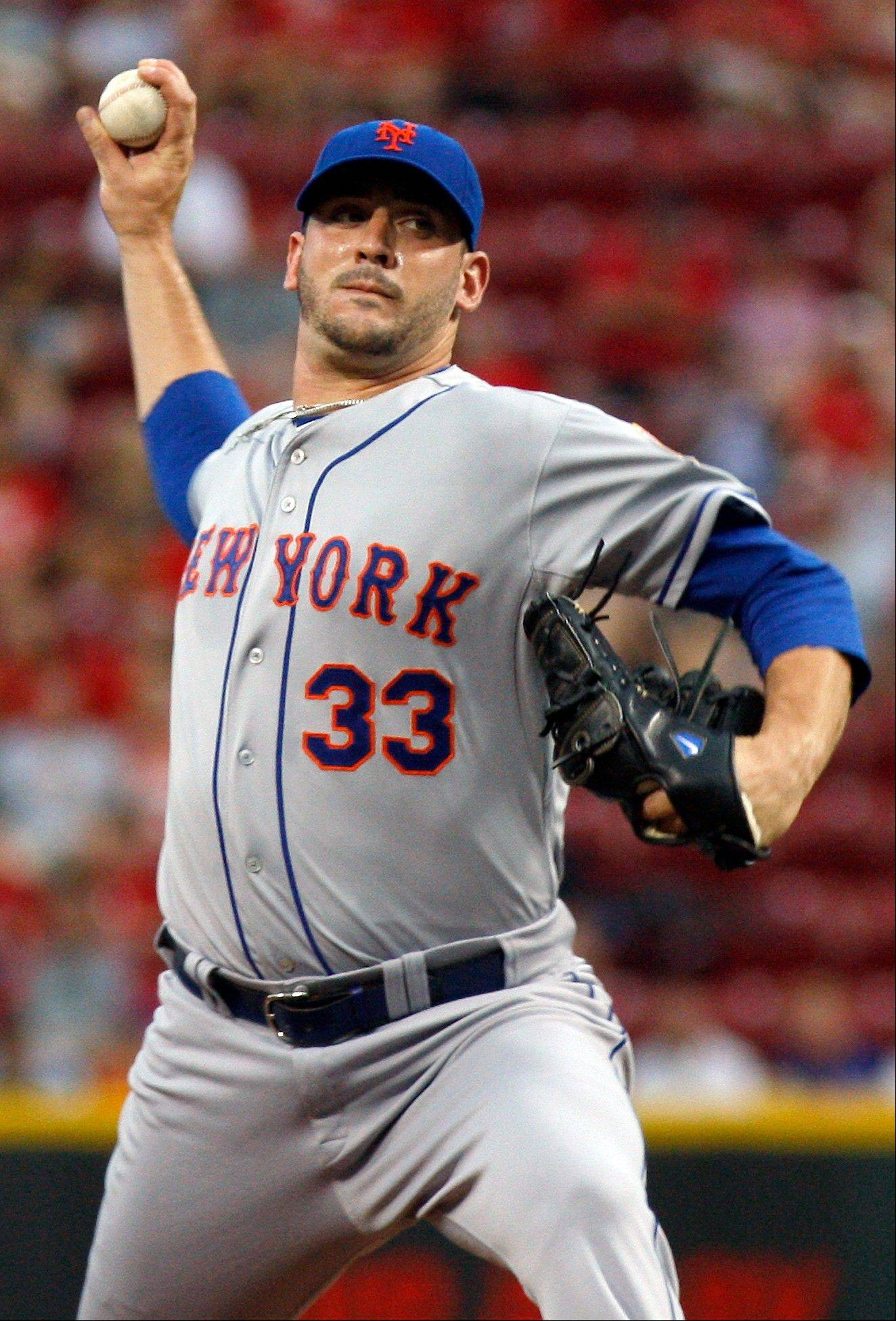 Mets starting pitcher Matt Harvey allowed one run and four hits in 7 2-3 innings Thursday in a road win over Cincinnati.
