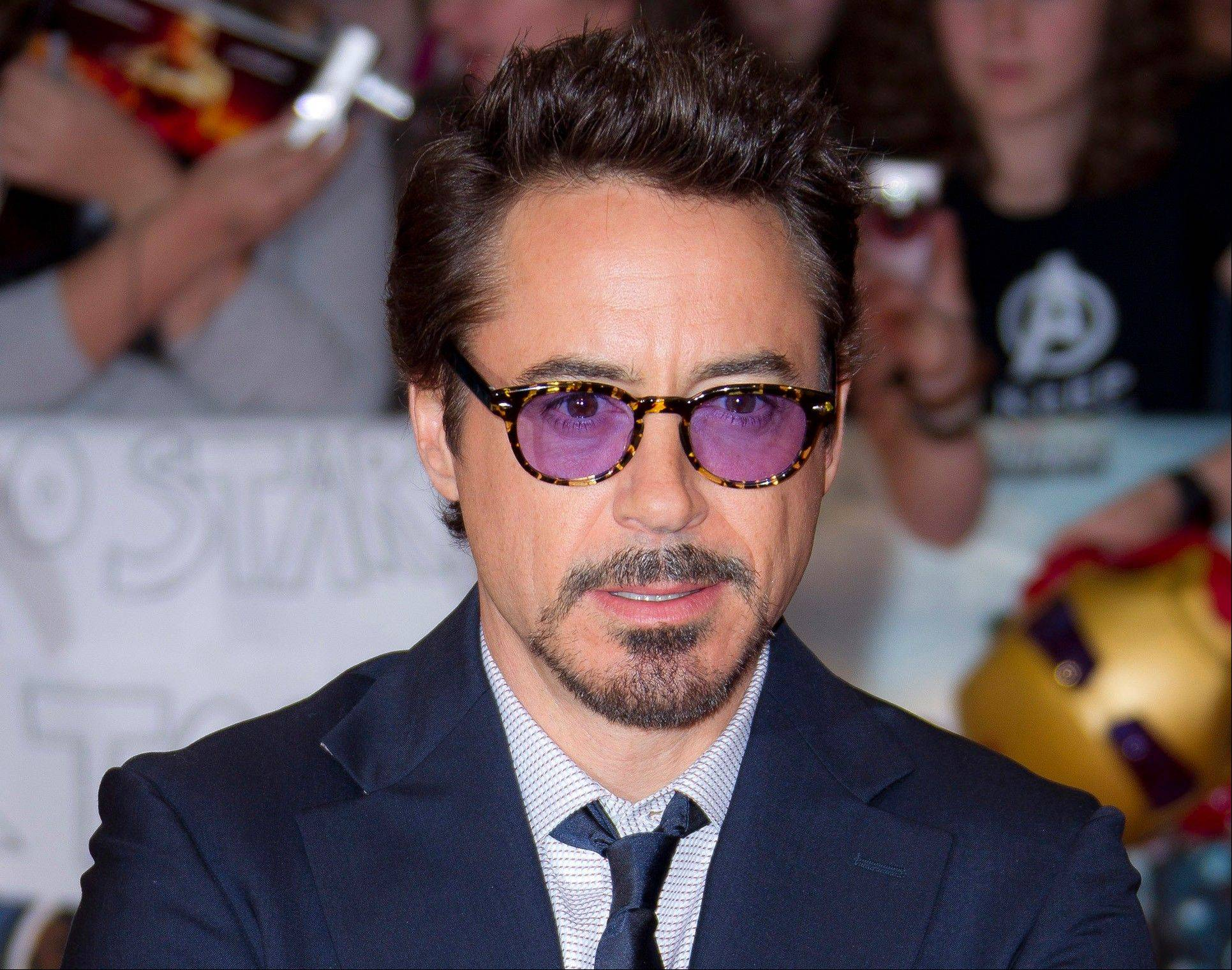 "Actor Robert Downey Jr sustained an injury to his foot while performing a stunt on the set of ""Iron Man 3."""