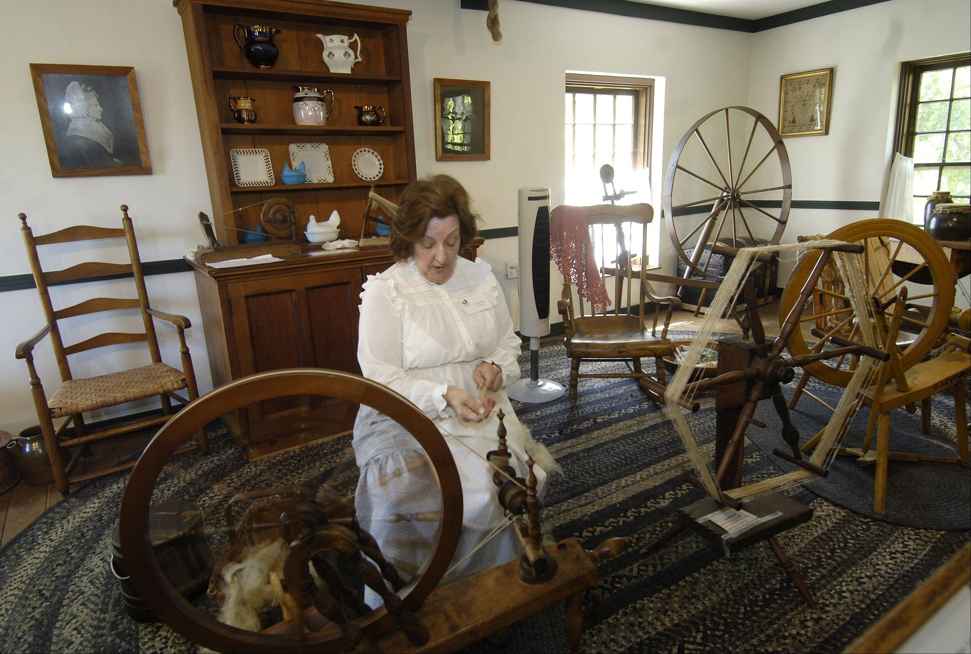 "Graue Mill and Museum provides demonstrations of early settler activities like spinning and weaving and houses objects pioneers used in their daily lives. ""It's really a step back in time,"" Executive Director Leslie Goddard said."