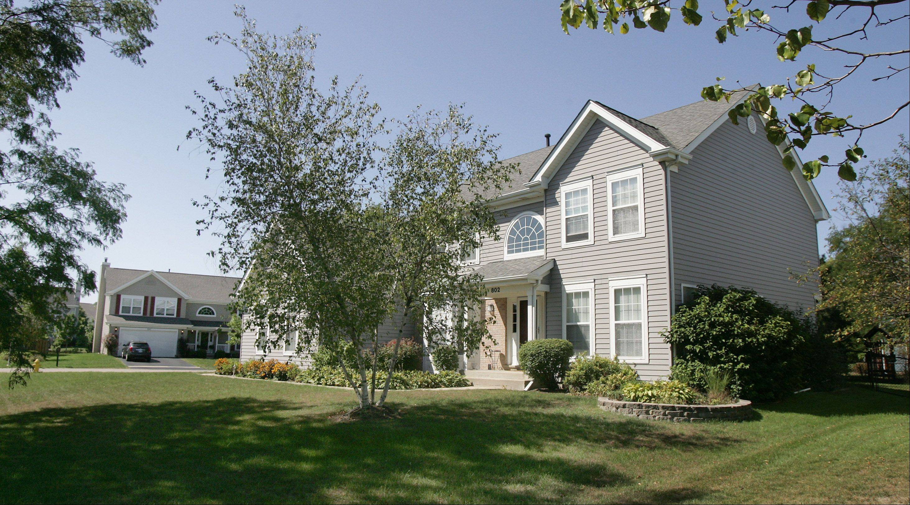 This home is typical of the larger houses found in Haryan Farms.