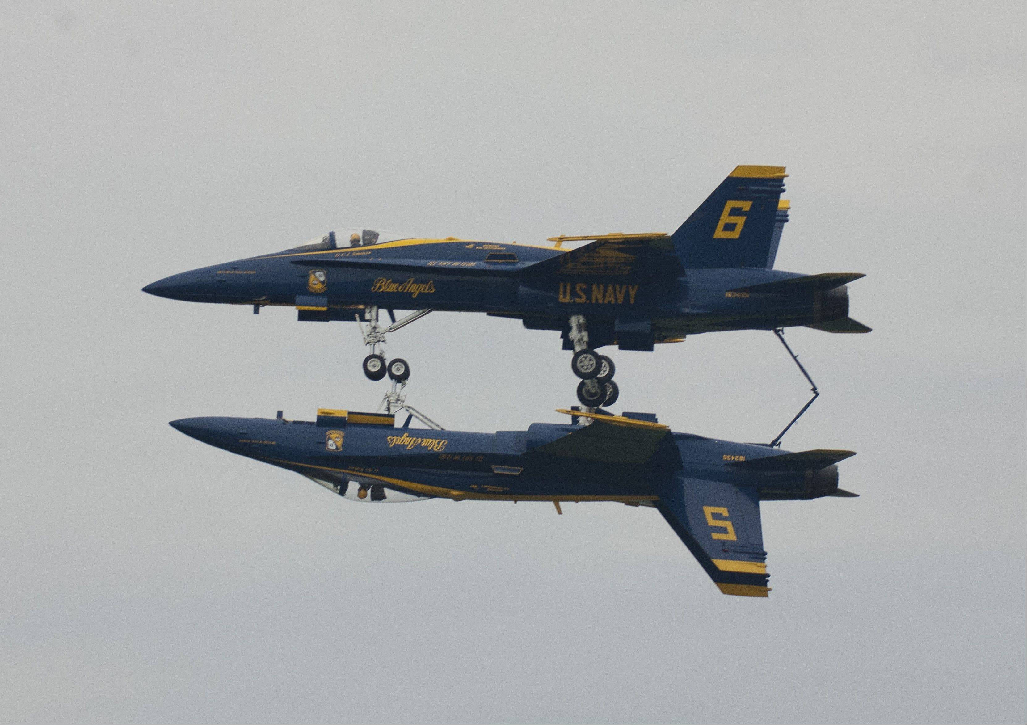Catch the Blue Angels once again at the Chicago Air & Water Show.