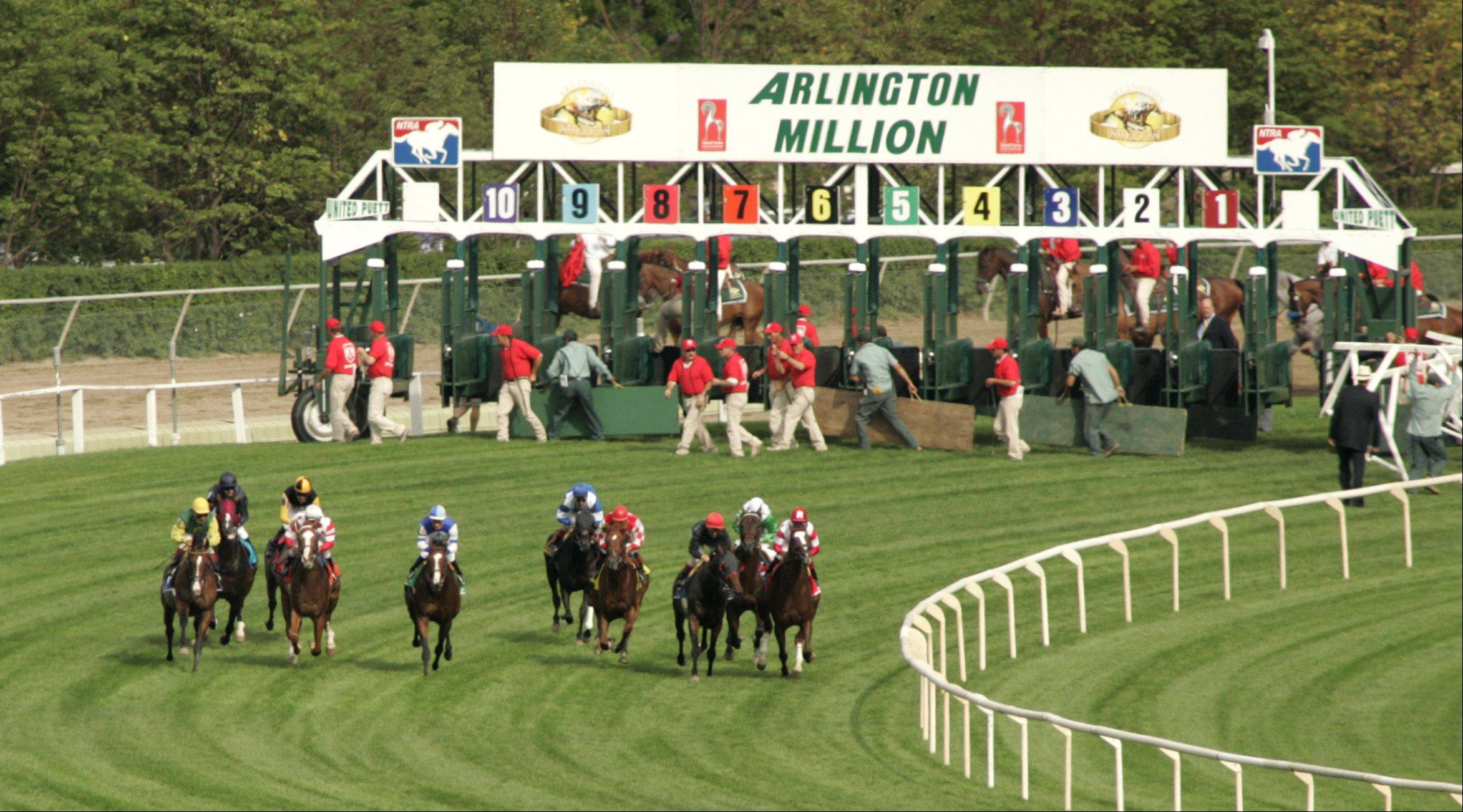 And..They're off during the 2005 Arlington Million.