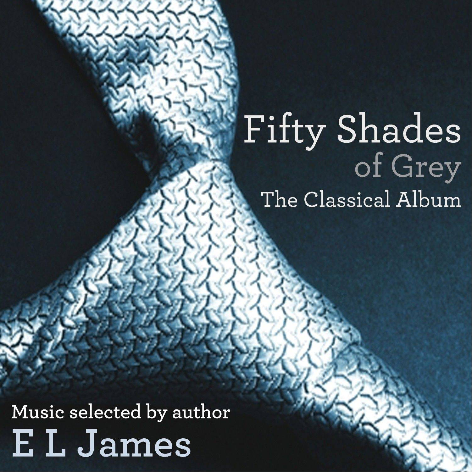 "This CD cover image released by EMI shows ""Fifty Shades of Grey: The Classical Album,"" a release inspired by the music selected by author EL James for her ""Fifty Shades of Grey"" book series."