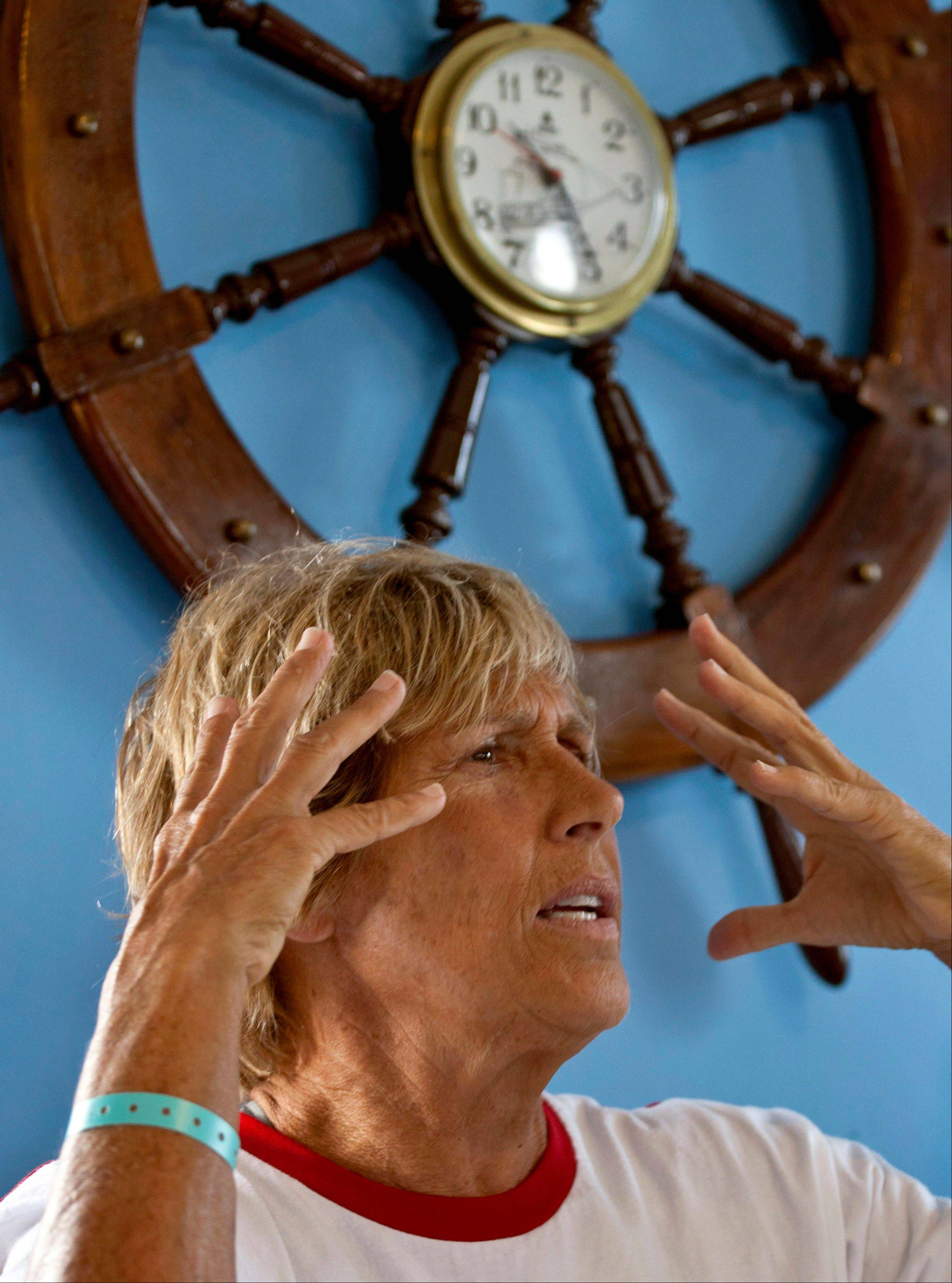 Associated Press U.S. swimmer Diana Nyad will make another attempt to swim across the Florida Straights without the protection of shark cage.