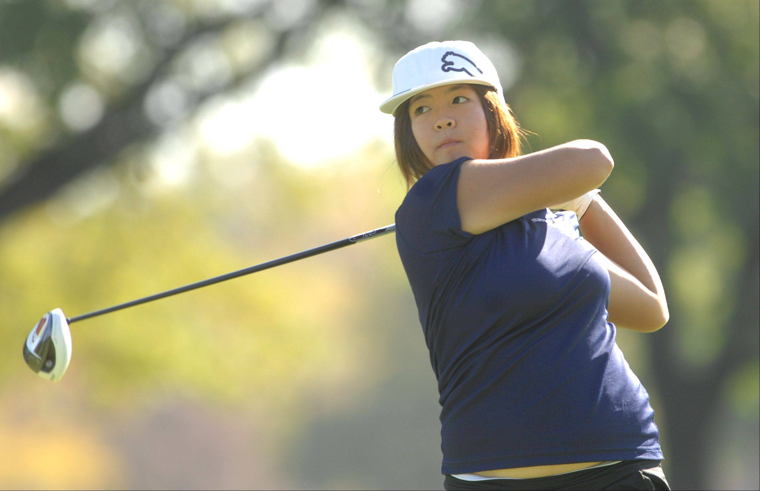 Buffalo Grove's Grace Kil is ready to begin an attempt at a high school grand slam of golf — winning the conference, regional, sectional and state meets in her senior year.