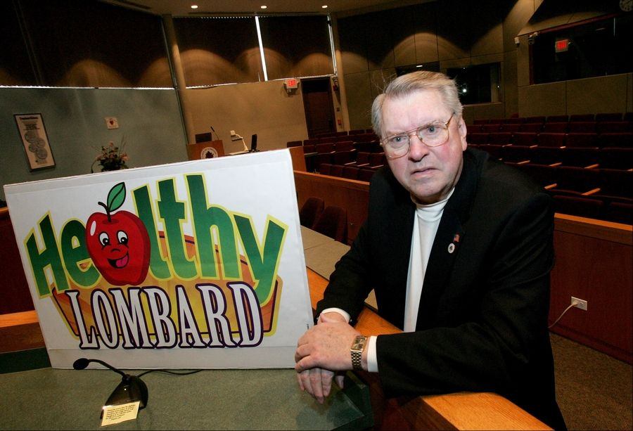 Promoting healthy activities and initiatives in town, such as Healthy Lombard and programs of the Tri-Town YMCA, was always an interest of Lombard Village President Bill Mueller's.