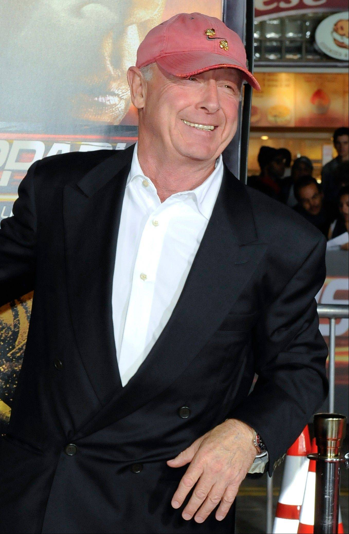 "Tony Scott, seen here in 2010 at the premiere of ""Unstoppable,"" died Sunday after jumping off a bridge in Los Angeles."