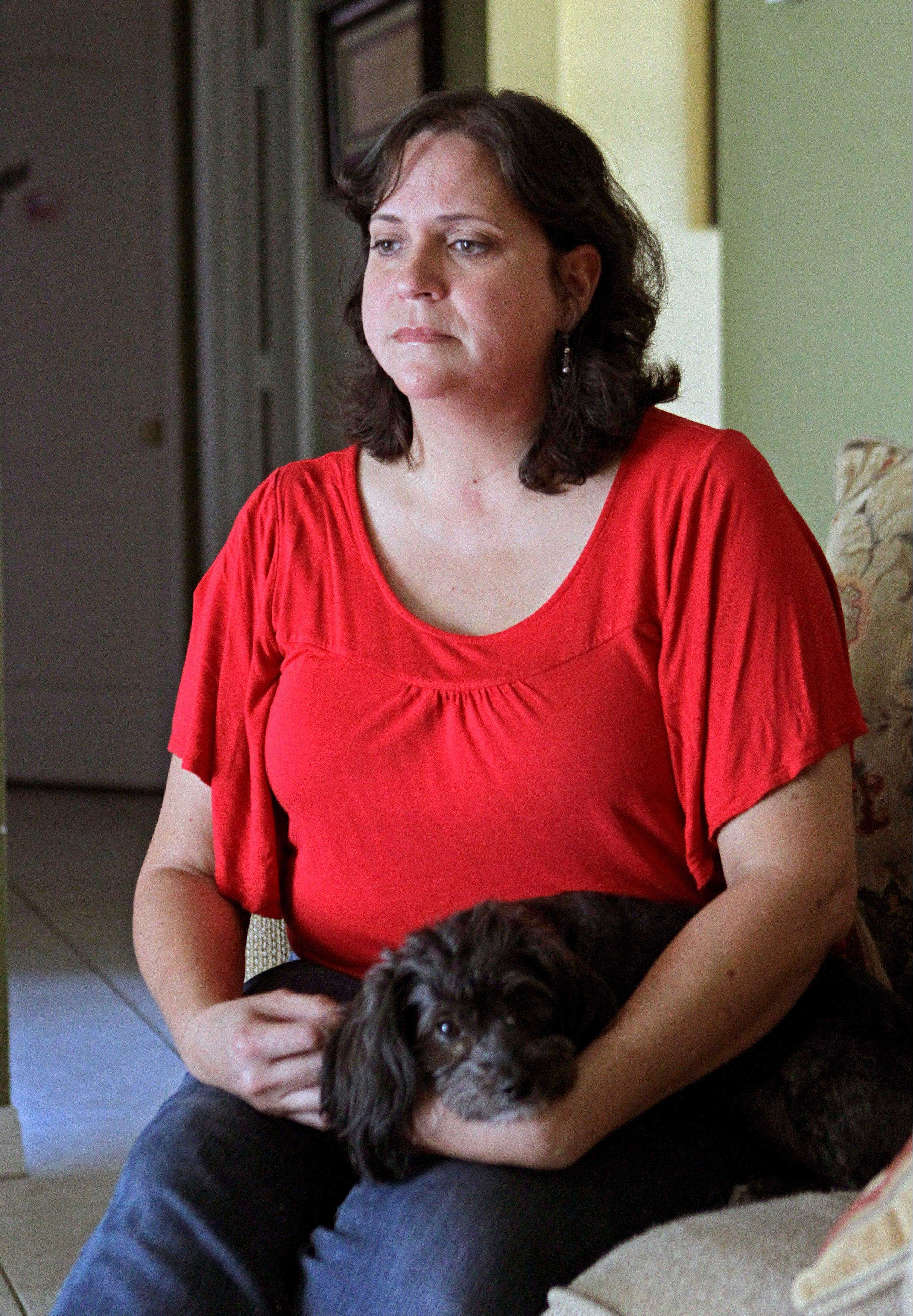 "Marisol Walker is fighting to keep the home that she and he husband bought about a year before his business collapsed. Walker says they haven't been able to pay the mortgage in 1� years. She works part-time, while her husband is trying to restart his business. She finds the current political debate alienating. ""I listen to politicians today and it makes me angry,"" she says. ""I want them to explain to me how two willing workers are struggling and have lost everything. ... I don't think it matters who's running the government. I don't see how any of them are going to help any of us living in the real world."""