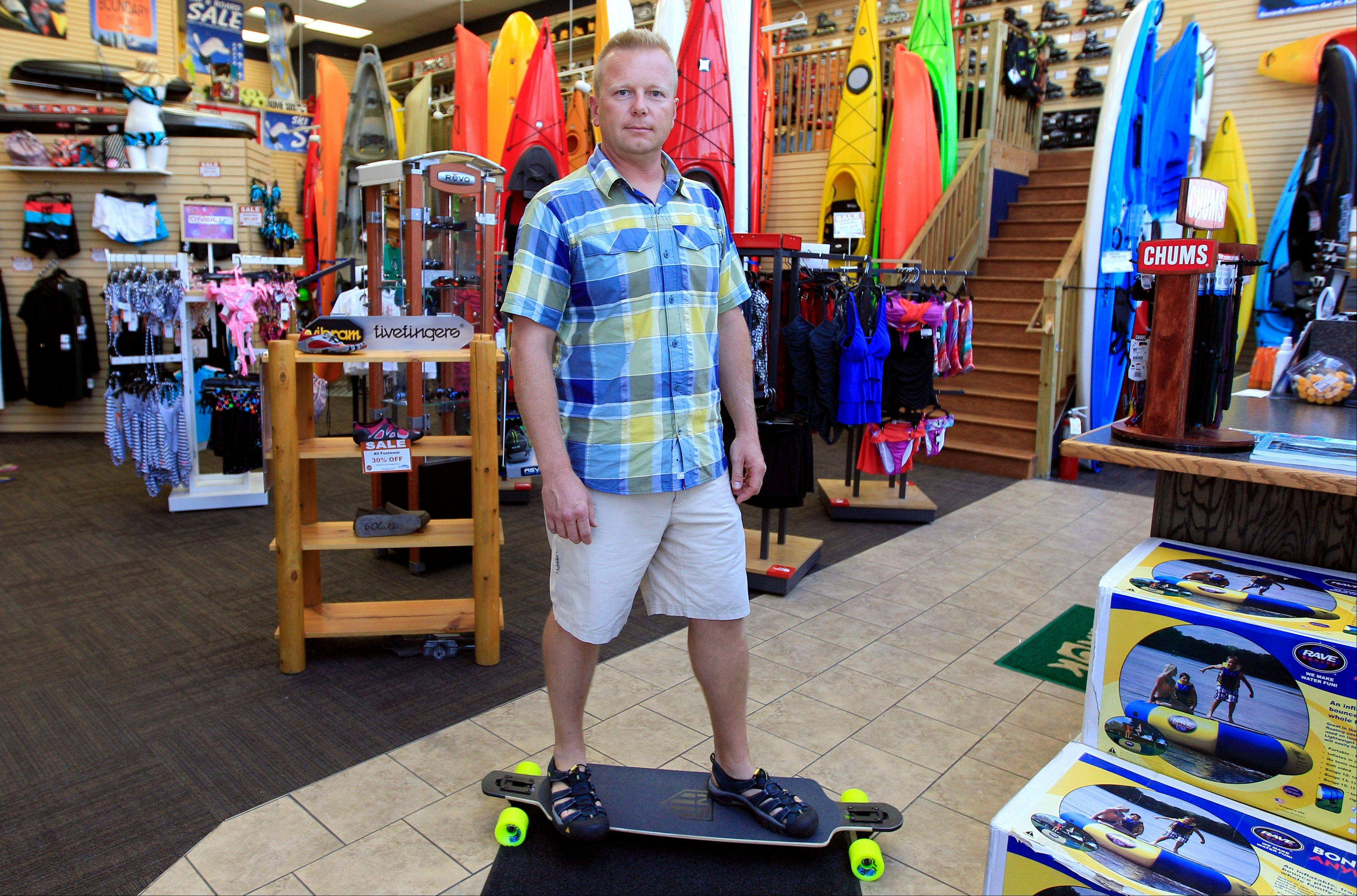 Andy Schepper, vice president of Summit Sports in Keego Harbor, Mich., says business is up 20 percent from last year. But sales of inline skates are down nearly 20 percent. Over the years, he's learned that very few people want to skate and bake in the sun.