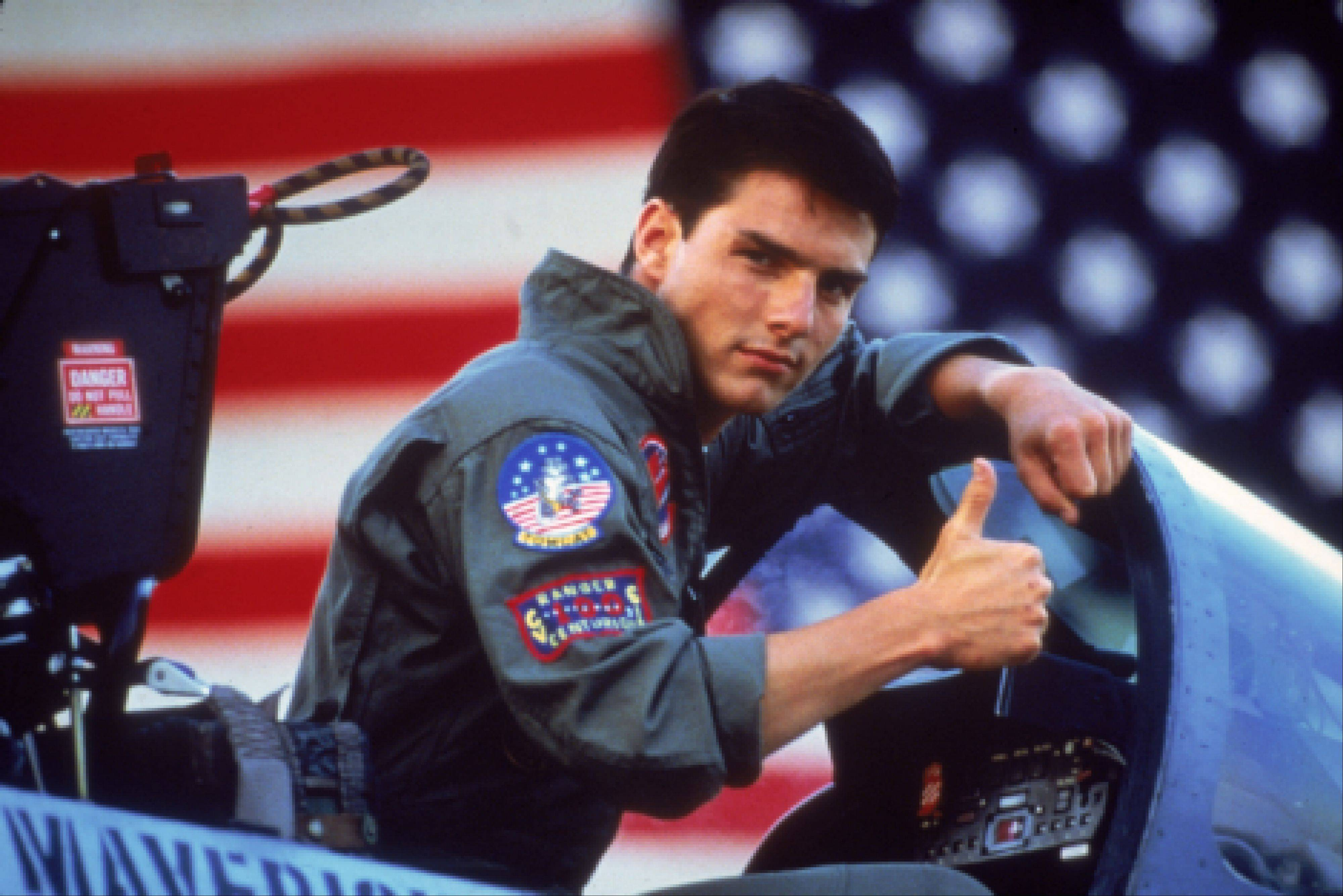 """Top Gun,"" the Tom Cruise smash from 1986, was directed by Tony Scott, who authorities say died Sunday after jumping off a bridge in Los Angeles."