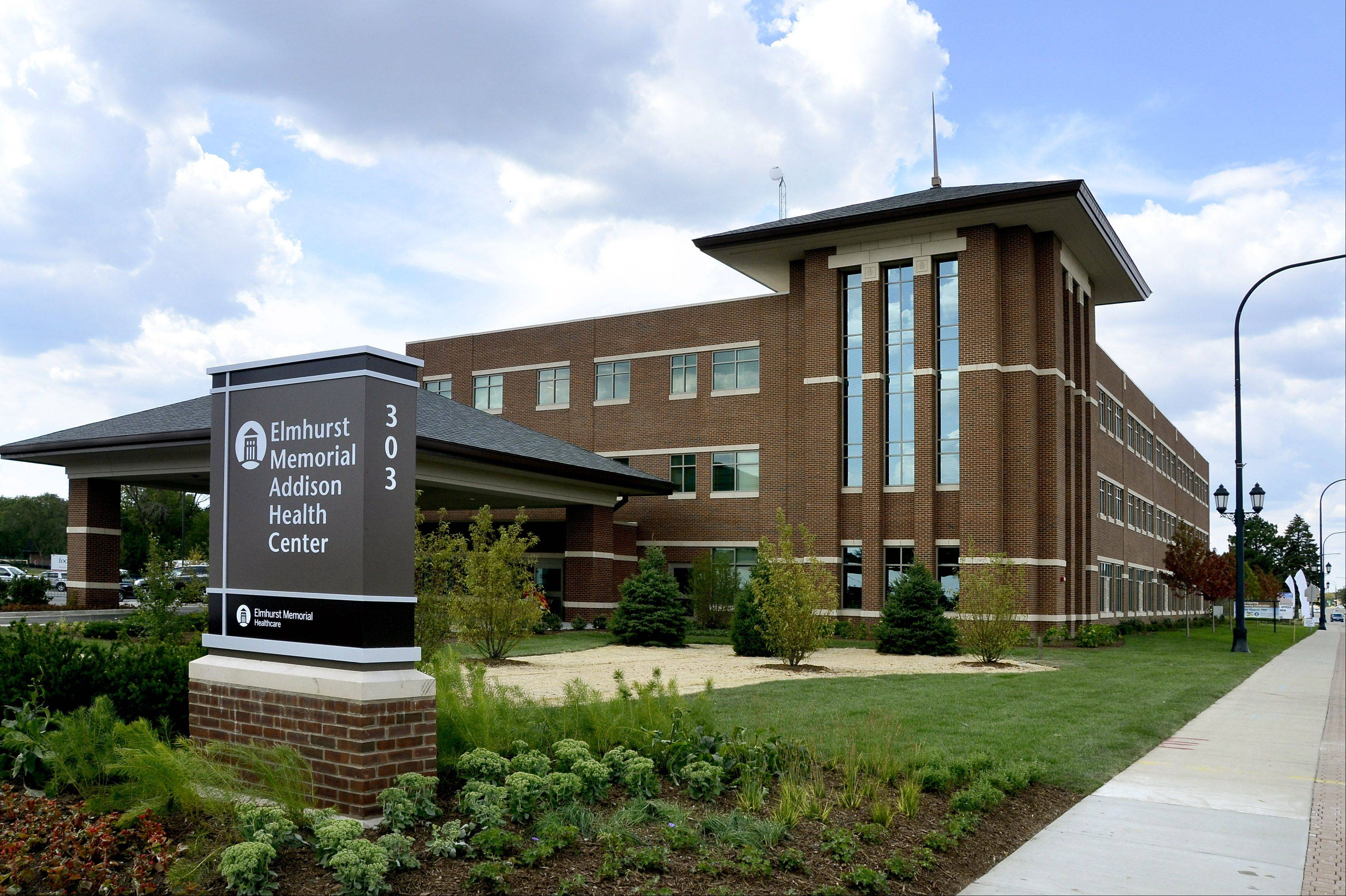 Elmhurst Memorial Hospital held the opening of their new Addison Health Center Sunday afternoon. The 55,000 square foot facility on Lake Street features, MRI, X-ray and other health procedures.