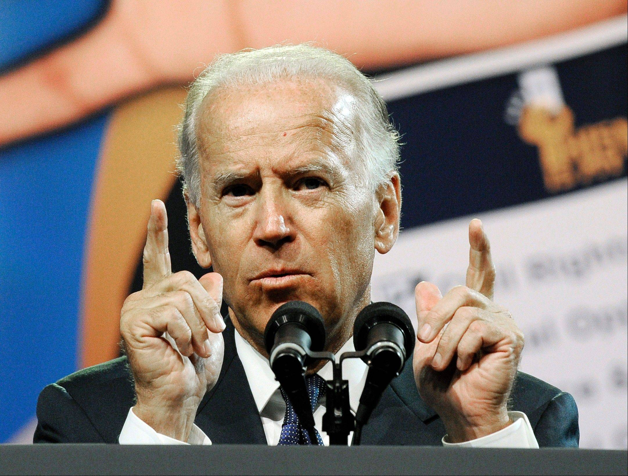 In this July 12, 2012, file photo, Vice President Joe Biden addresses the NAACP annual convention in Houston. In May, after Joe Biden tripped up his boss by voicing support for same-sex marriage while the president remained on the fence, there was speculation about whether the remarks were spontaneous or deliberate. But to those who know Biden, there was no doubt. He was just speaking his mind.