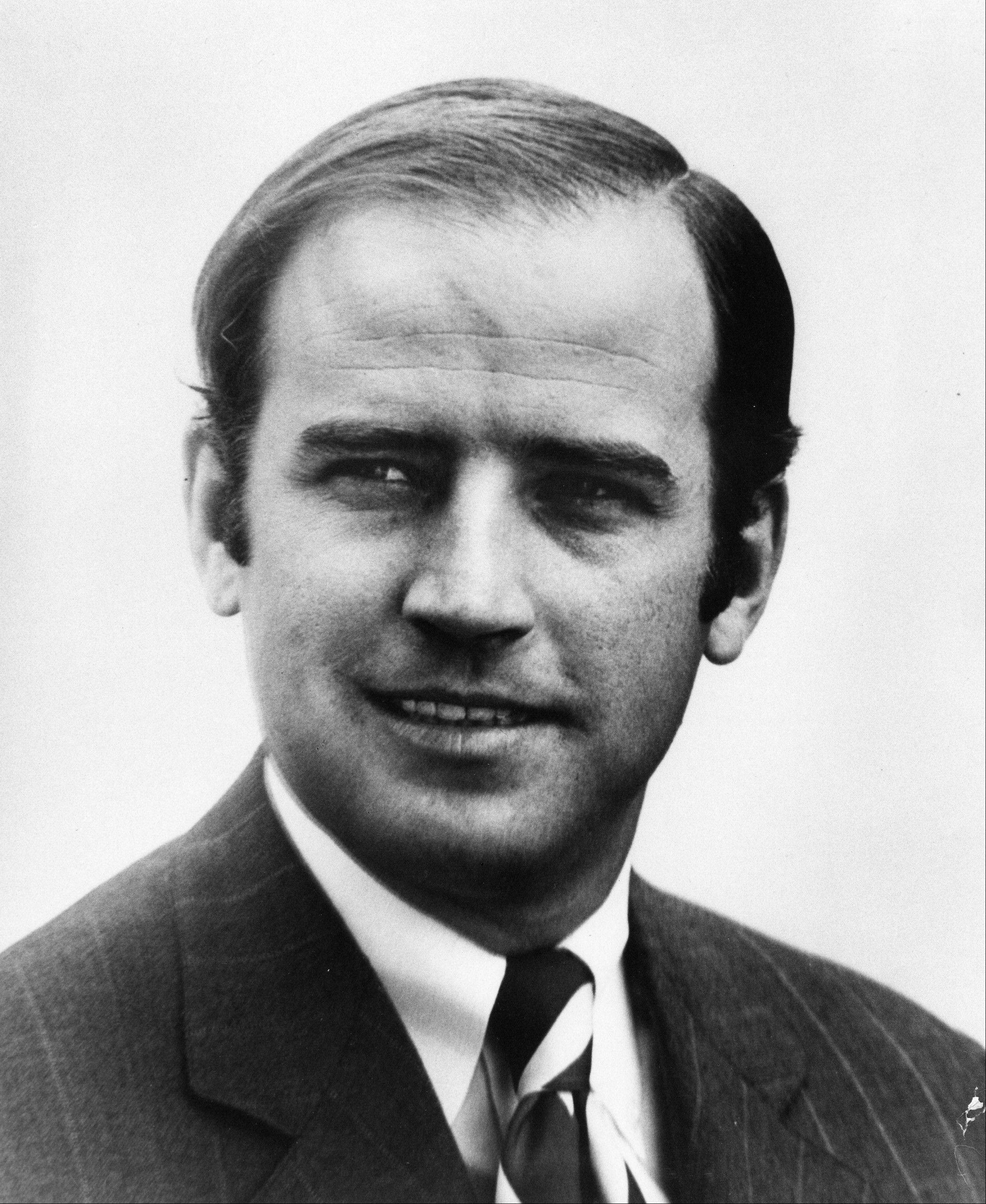 In this photo provided by Sen. Joe Biden's office, then- Sen. Joe Biden, D-Del., is seen in his official Senate portrait in the mid 1970's in Washington. In May, after Joe Biden tripped up his boss by voicing support for same-sex marriage while the president remained on the fence, there was speculation about whether the remarks were spontaneous or deliberate. But to those who know Biden, there was no doubt. He was just speaking his mind.