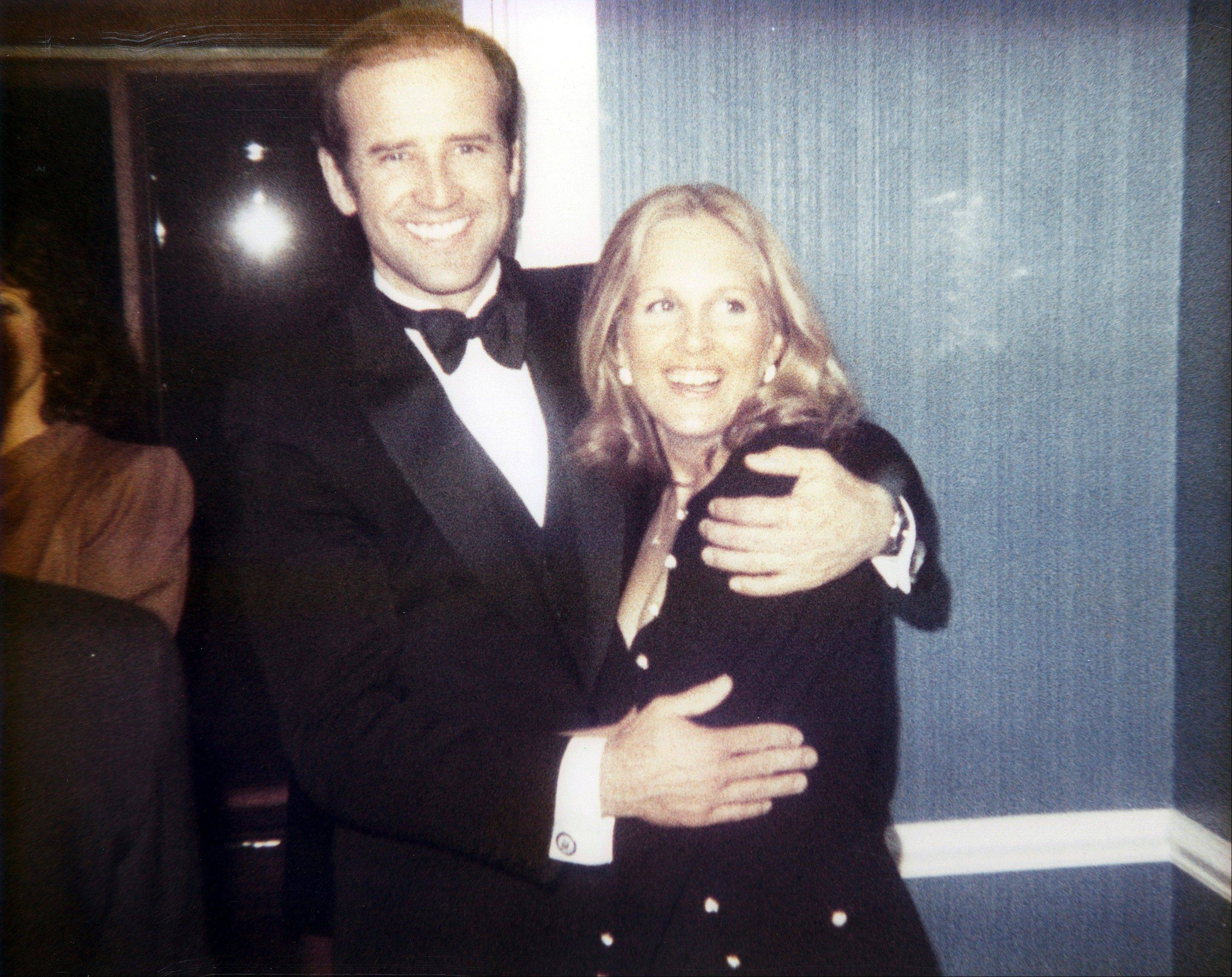 In this photo provided by Sen. Biden's office, then-Sen. Joe Biden, D-Del., and his wife Jill, are seen in this undated photo. In May, after Joe Biden tripped up his boss by voicing support for same-sex marriage while the president remained on the fence, there was speculation about whether the remarks were spontaneous or deliberate. But to those who know Biden, there was no doubt. He was just speaking his mind.