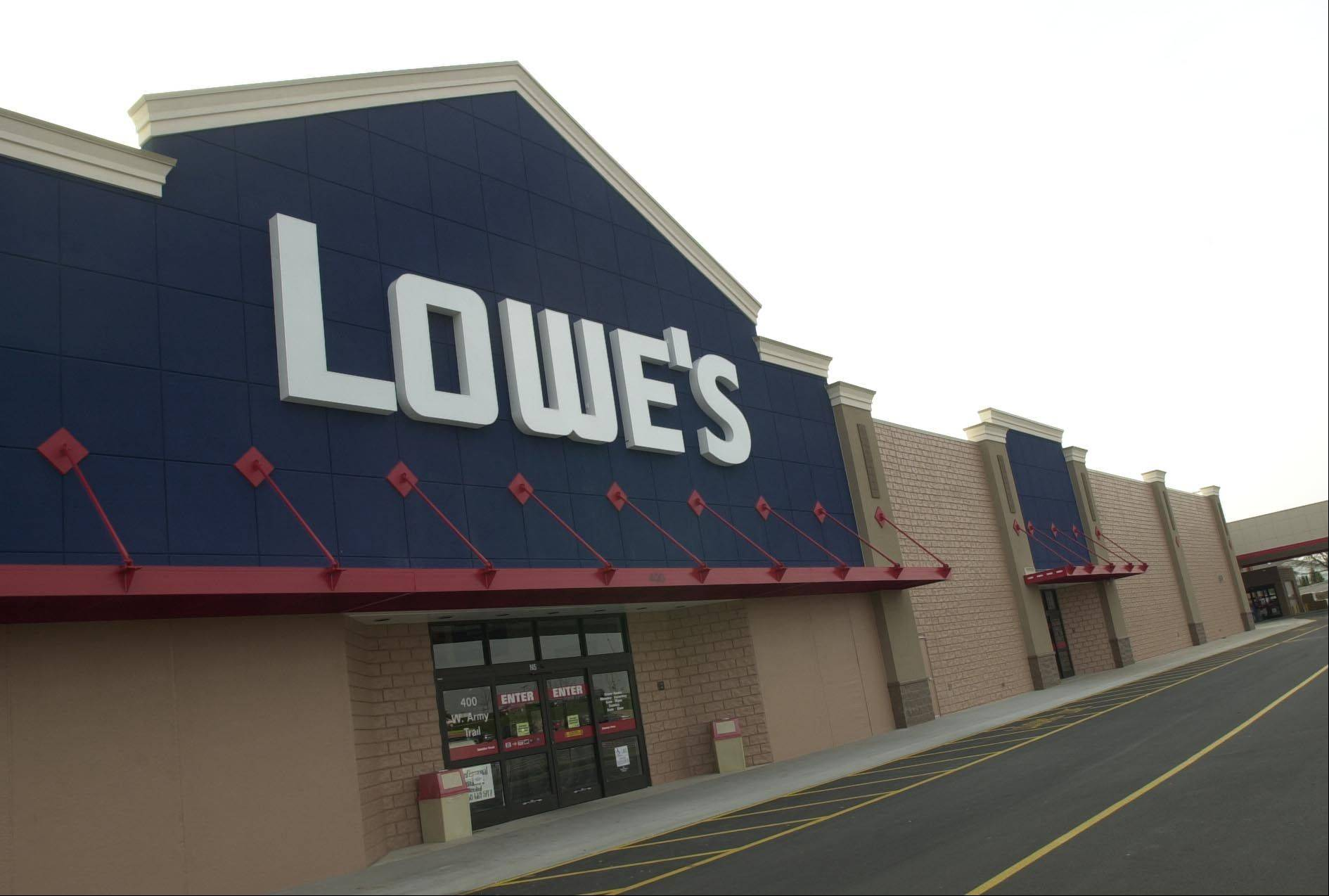 Lowe's fiscal second-quarter net income dropped 10 percent, hurt by a timing shift and a charge tied to job cuts. Its performance missed Wall Street's expectations.